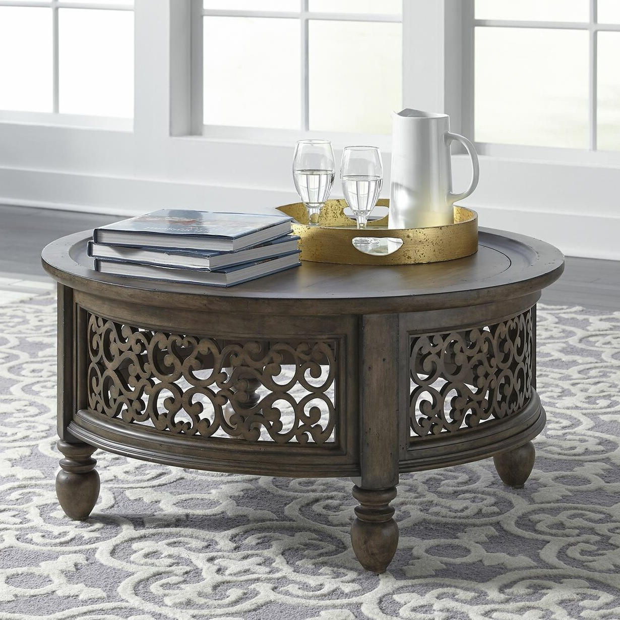 Queener 5 Piece Dining Sets Within Well Liked Astoria Grand Gandy Coffee Table With Tray Top (View 8 of 25)