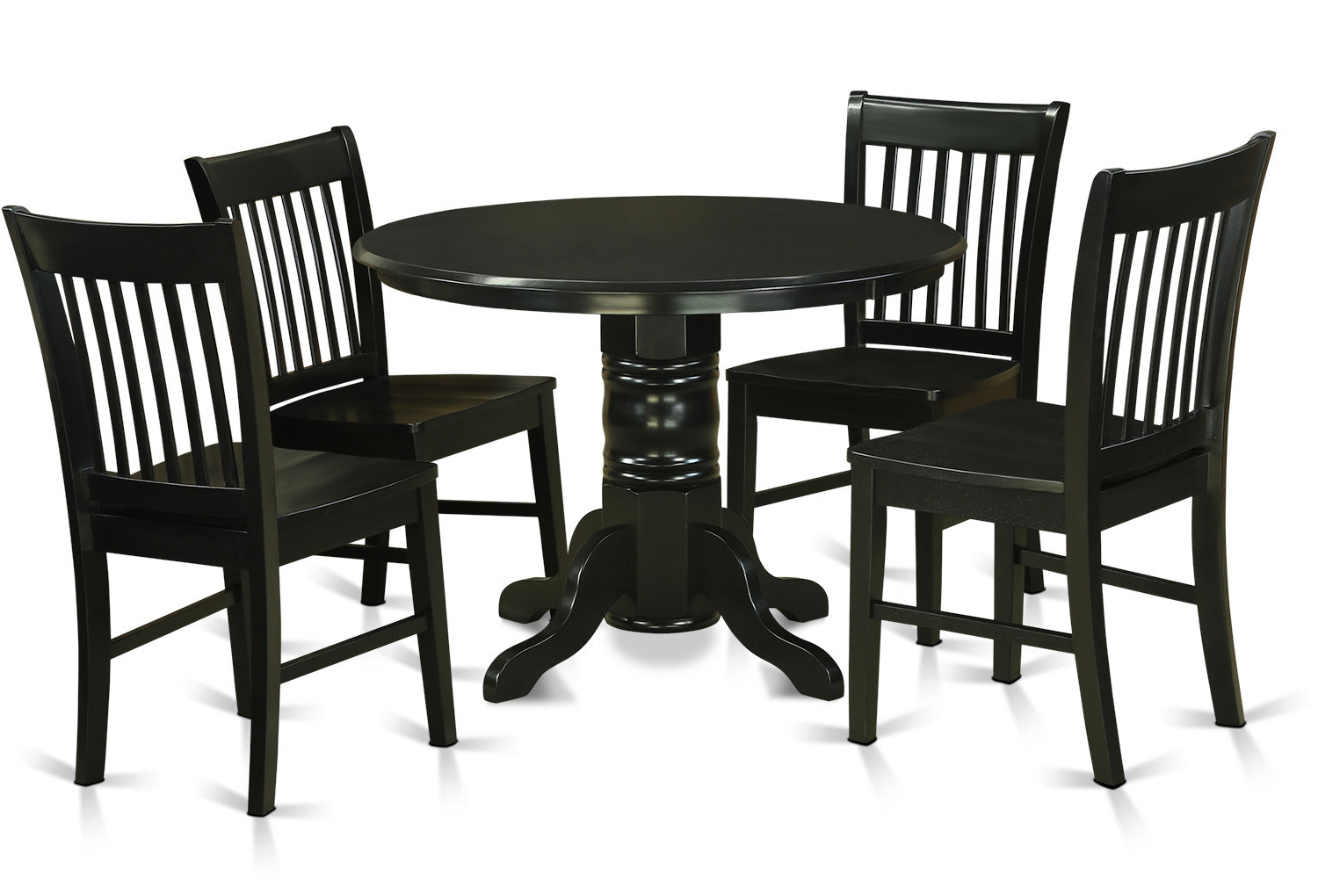 Recent August Grove Sherlock 5 Piece Breakfast Nook Dining Set (View 11 of 25)