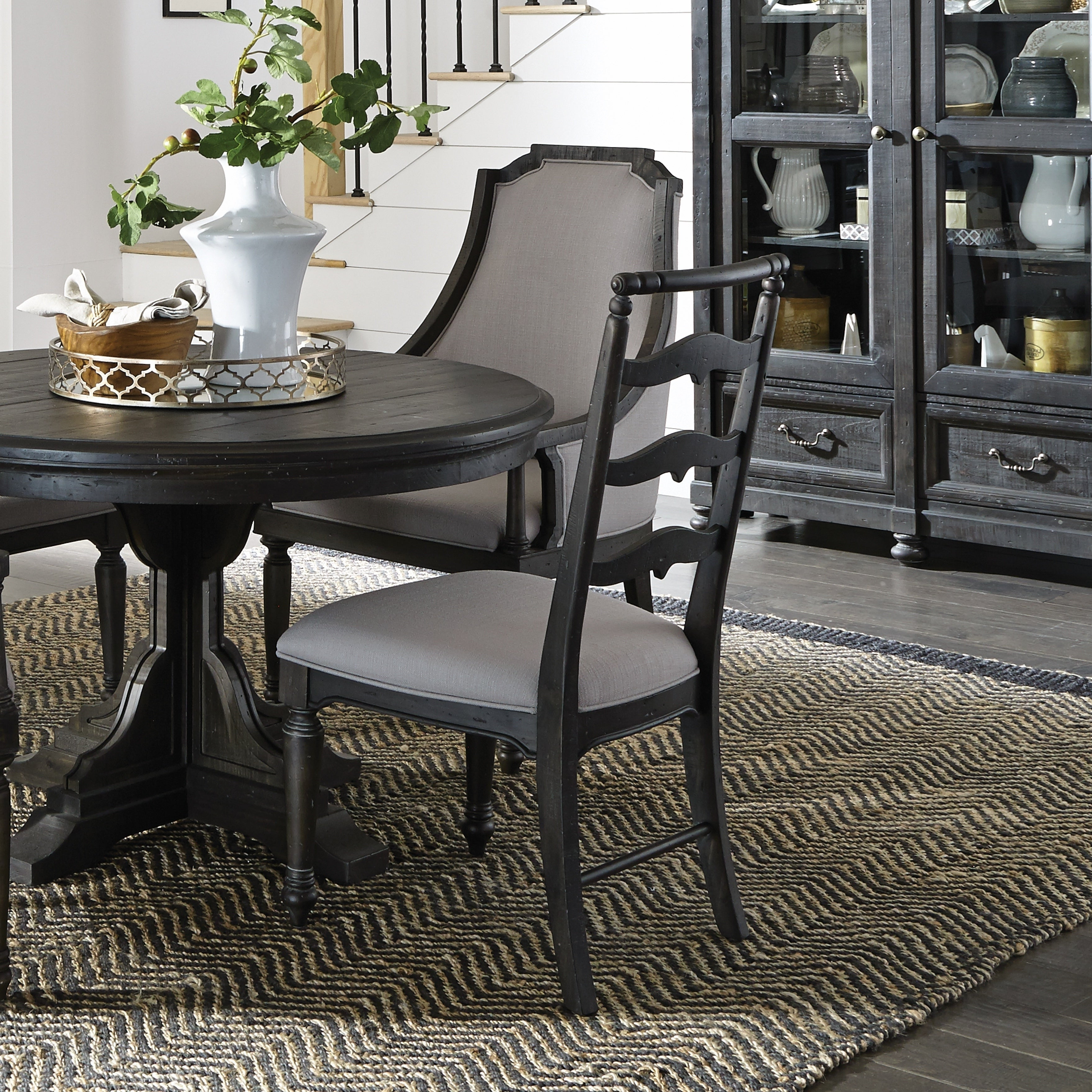 Recent Bedfo 3 Piece Dining Sets In Shop Bedford Corners Dining Side Chair With Upholstered Seat In (View 11 of 25)