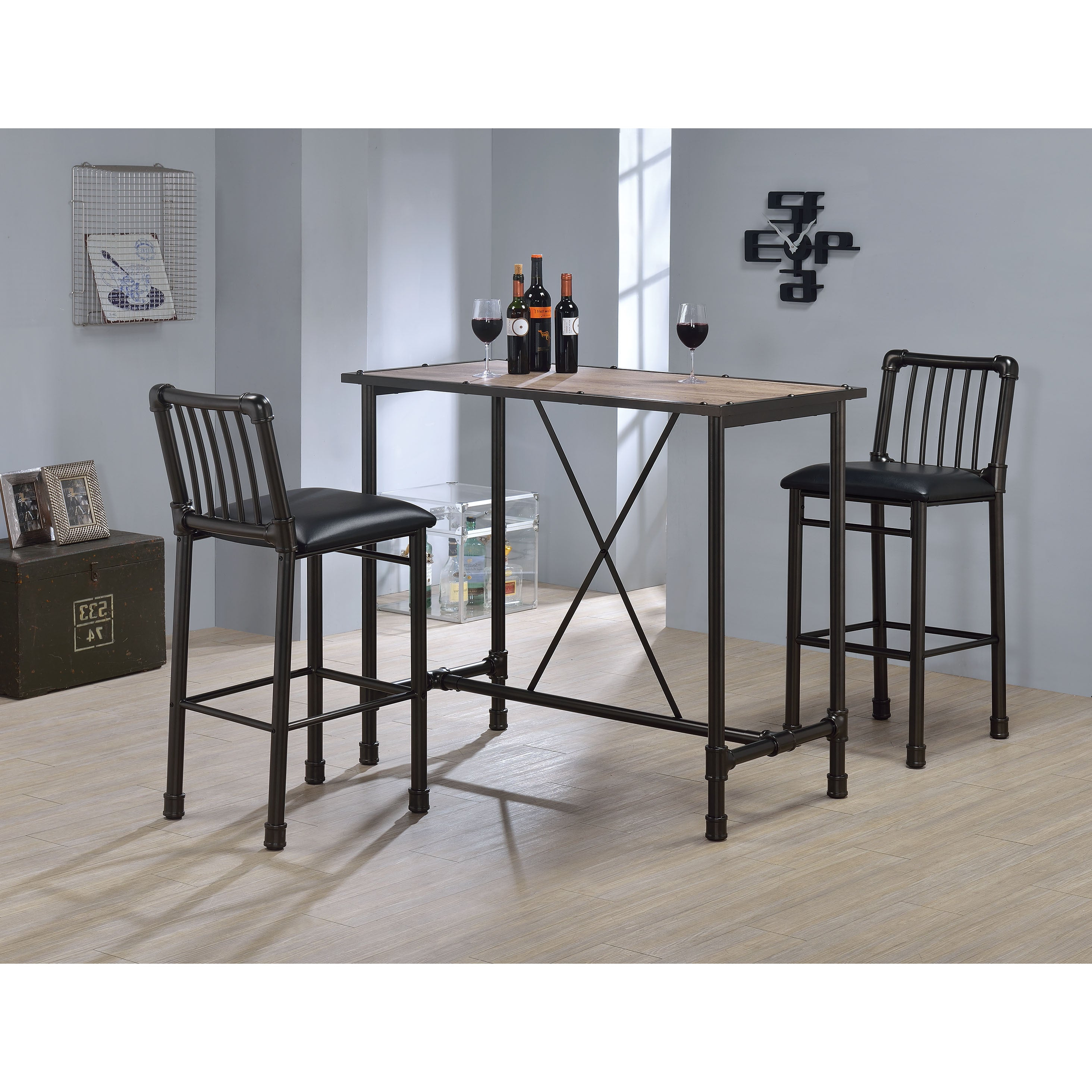 Recent Buy Modern & Contemporary Bar & Pub Tables Online At Overstock (View 17 of 25)