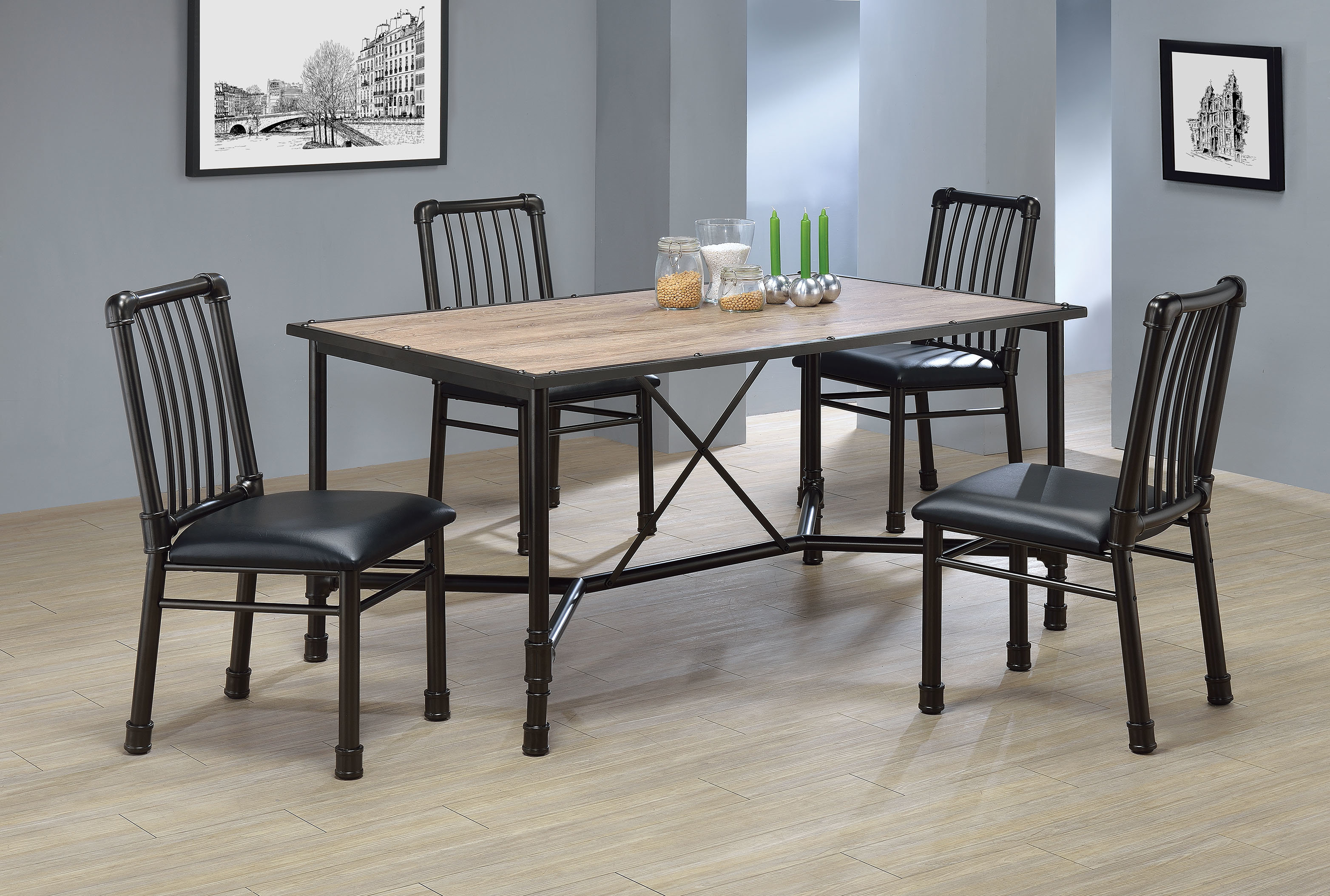 Recent Conover 5 Piece Dining Sets Pertaining To Williston Forge Macclesfield 5 Piece Dining Set (View 19 of 25)