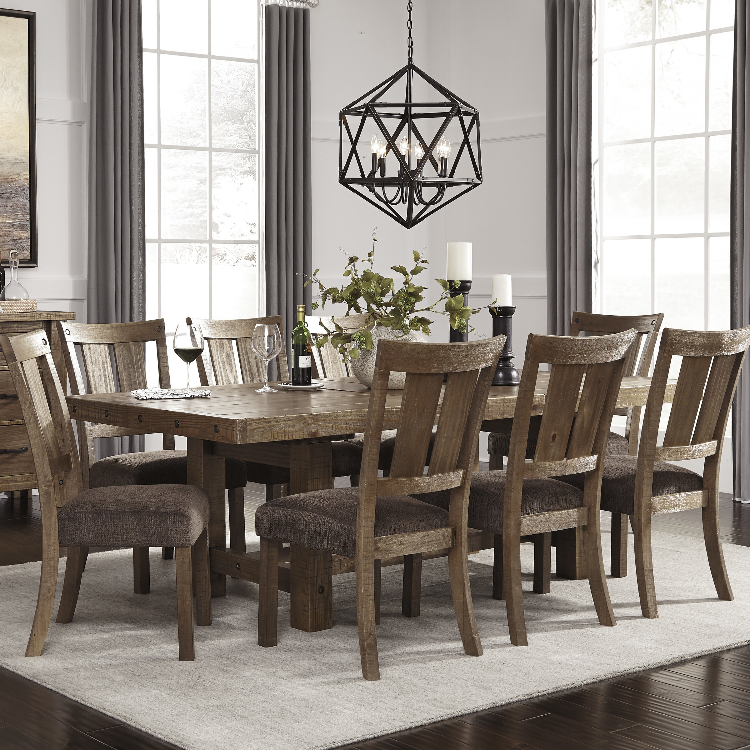 Recent Kitchen & Dining Room Sets You'll Love With Regard To Evellen 5 Piece Solid Wood Dining Sets (Set Of 5) (View 18 of 25)