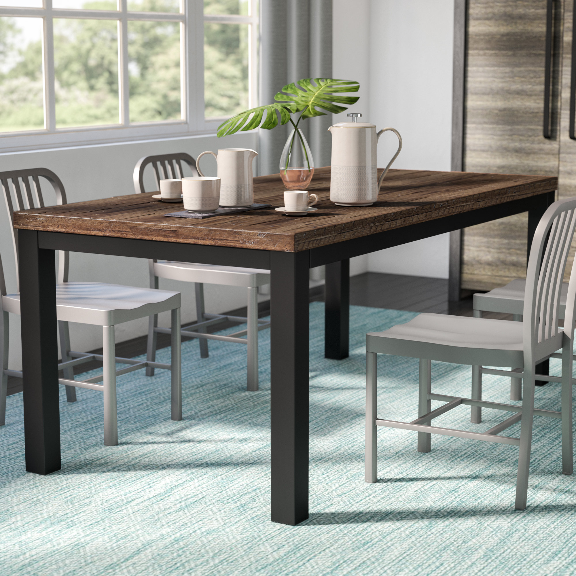 Recent Langley 5 Piece Dining Set & Reviews (View 9 of 25)