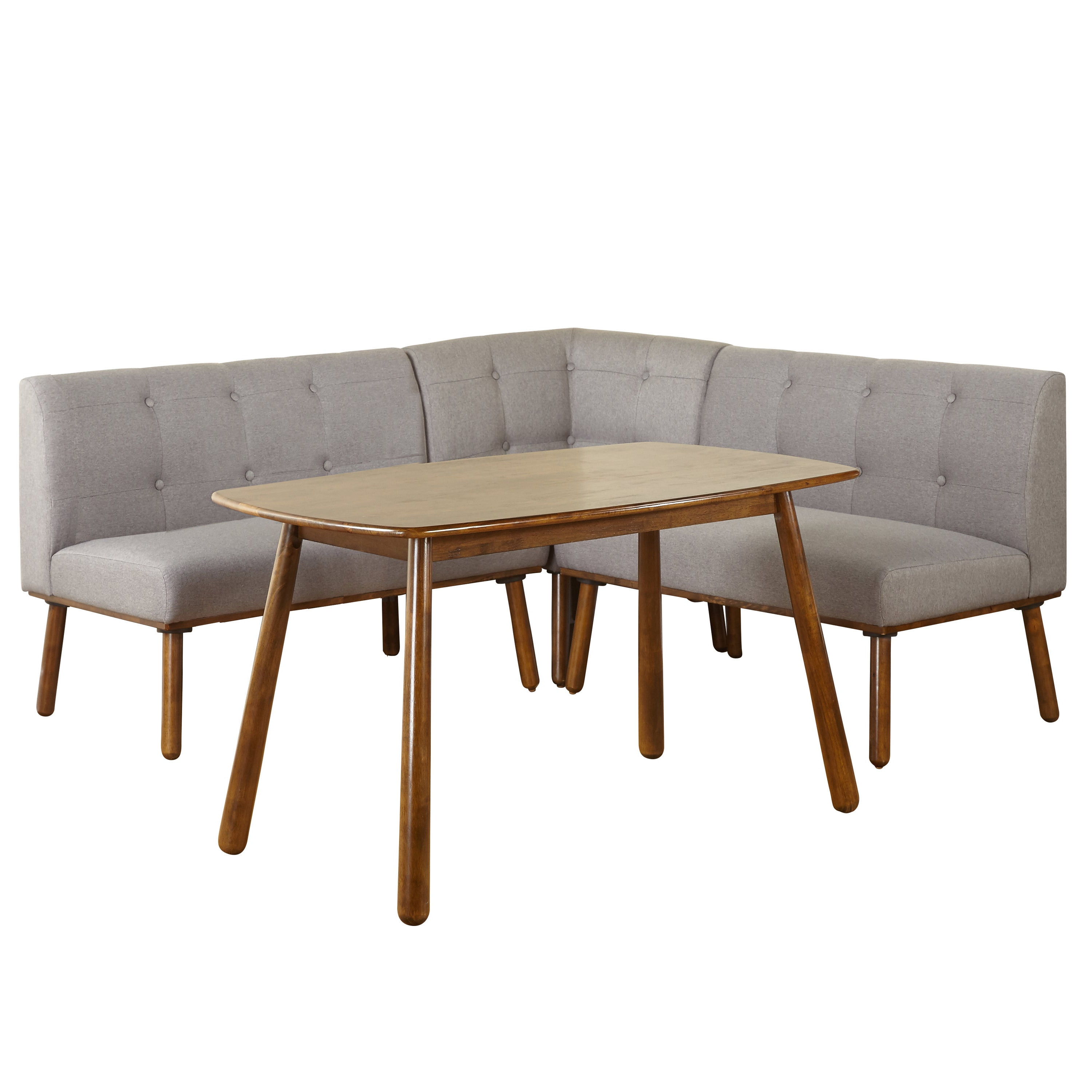 Recent Shop Simple Living 4 Piece Playmate Nook Dining Set - On Sale - Free for Maloney 3 Piece Breakfast Nook Dining Sets