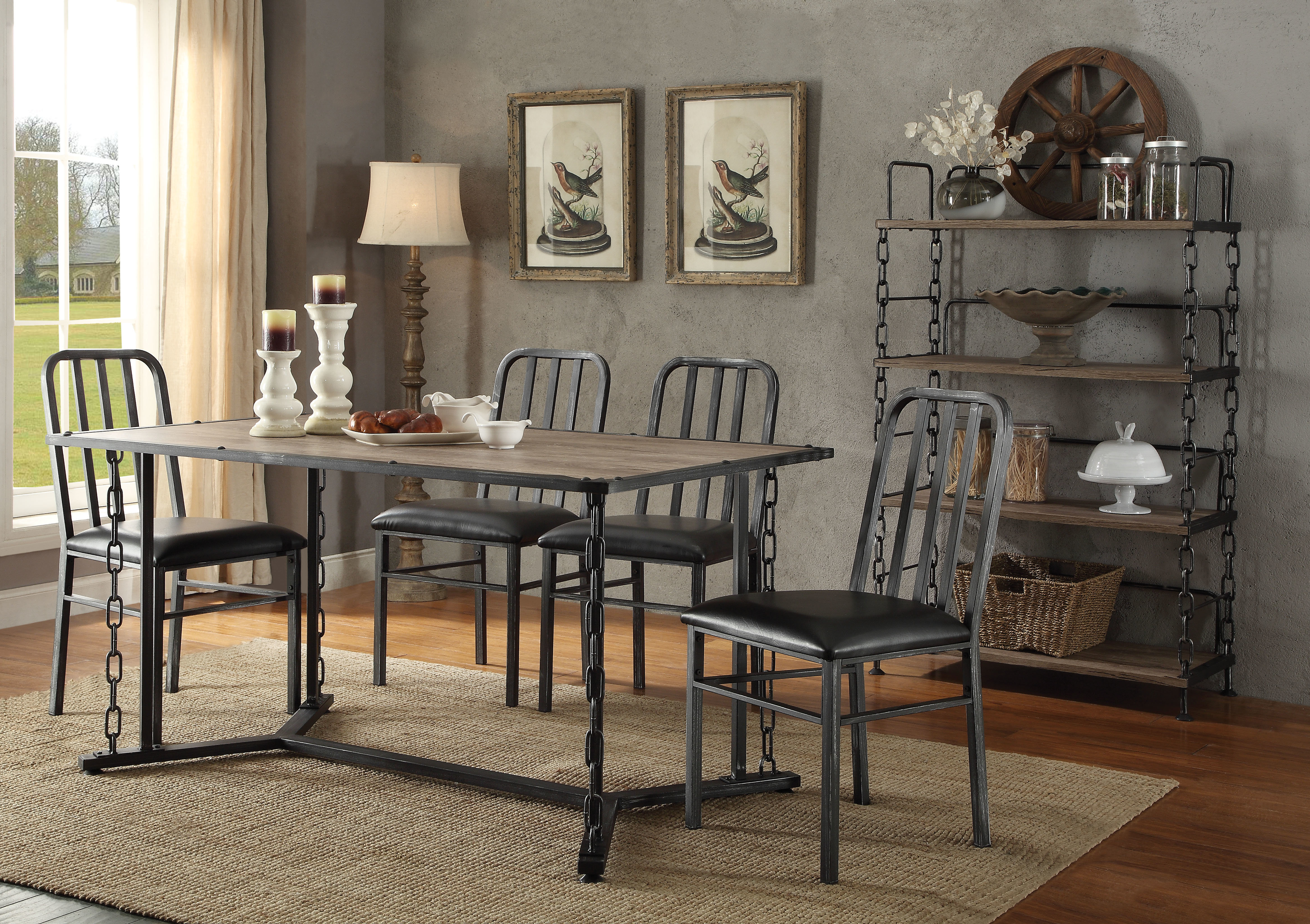 Featured Photo of Reinert 5 Piece Dining Sets