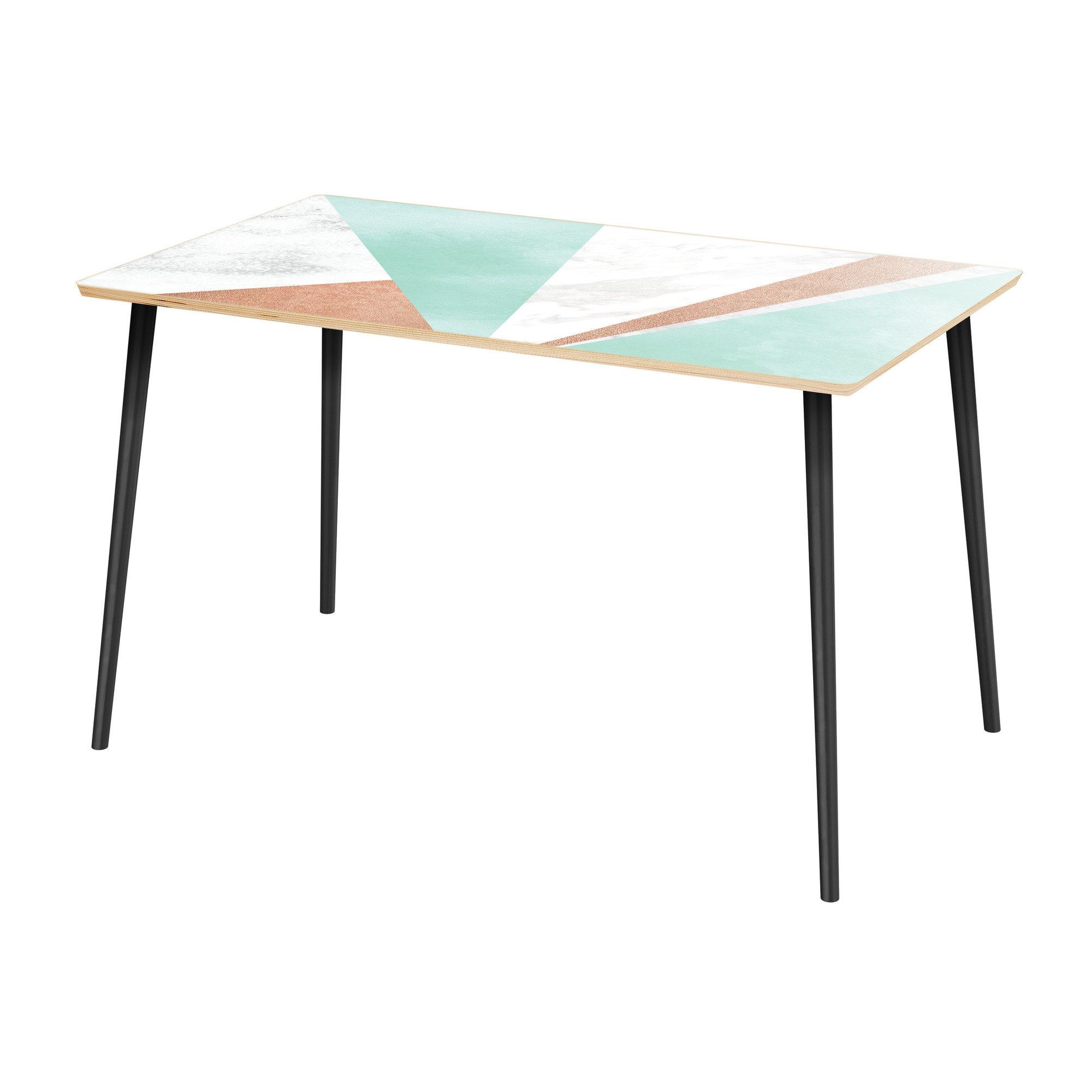 Reinert 5 Piece Dining Sets Inside 2020 Wrought Studio Hageman Dining Table (View 13 of 25)