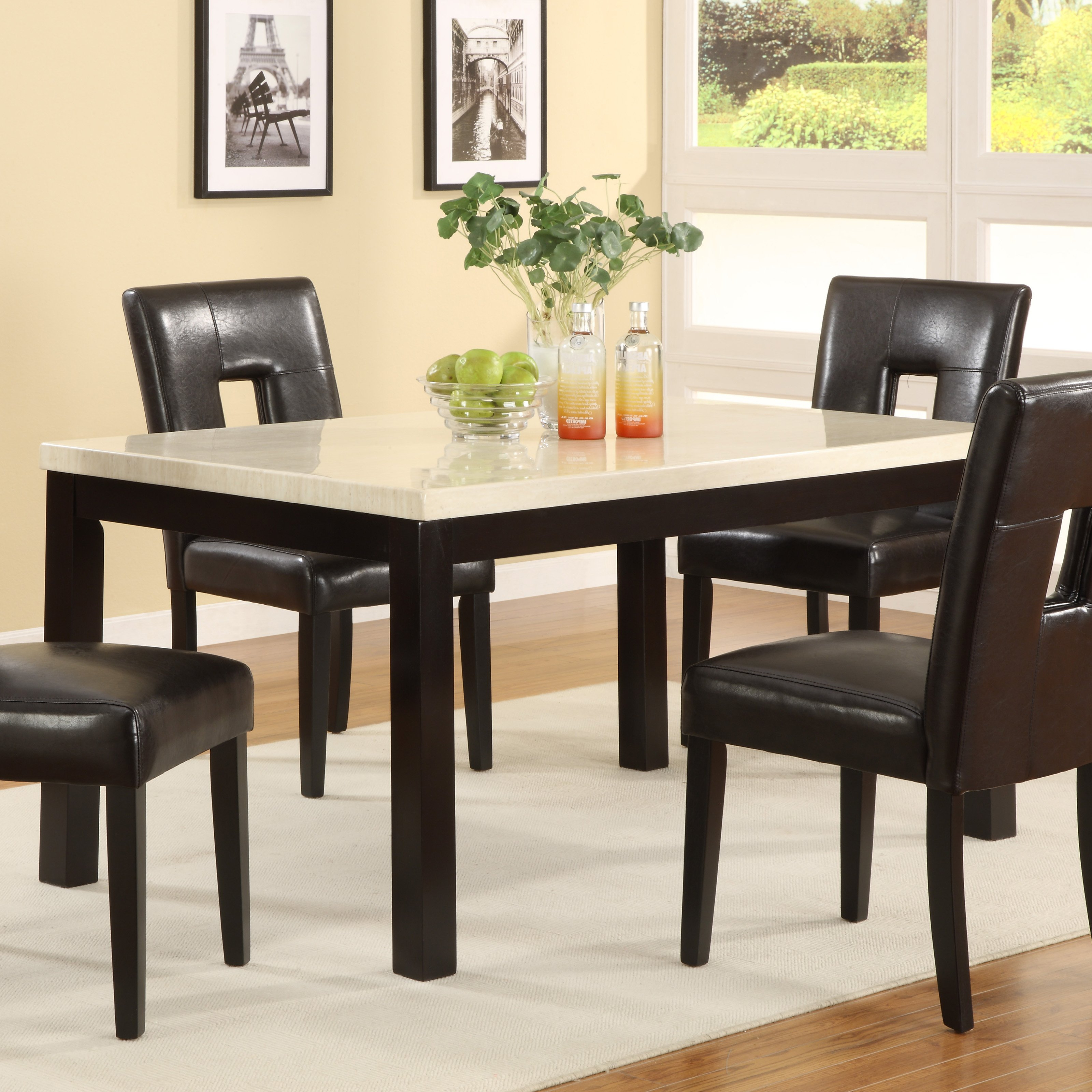 Rossiter 3 Piece Dining Sets in Favorite Metropolitan 3 Piece Dining Set, Multiple Finishes - Walmart