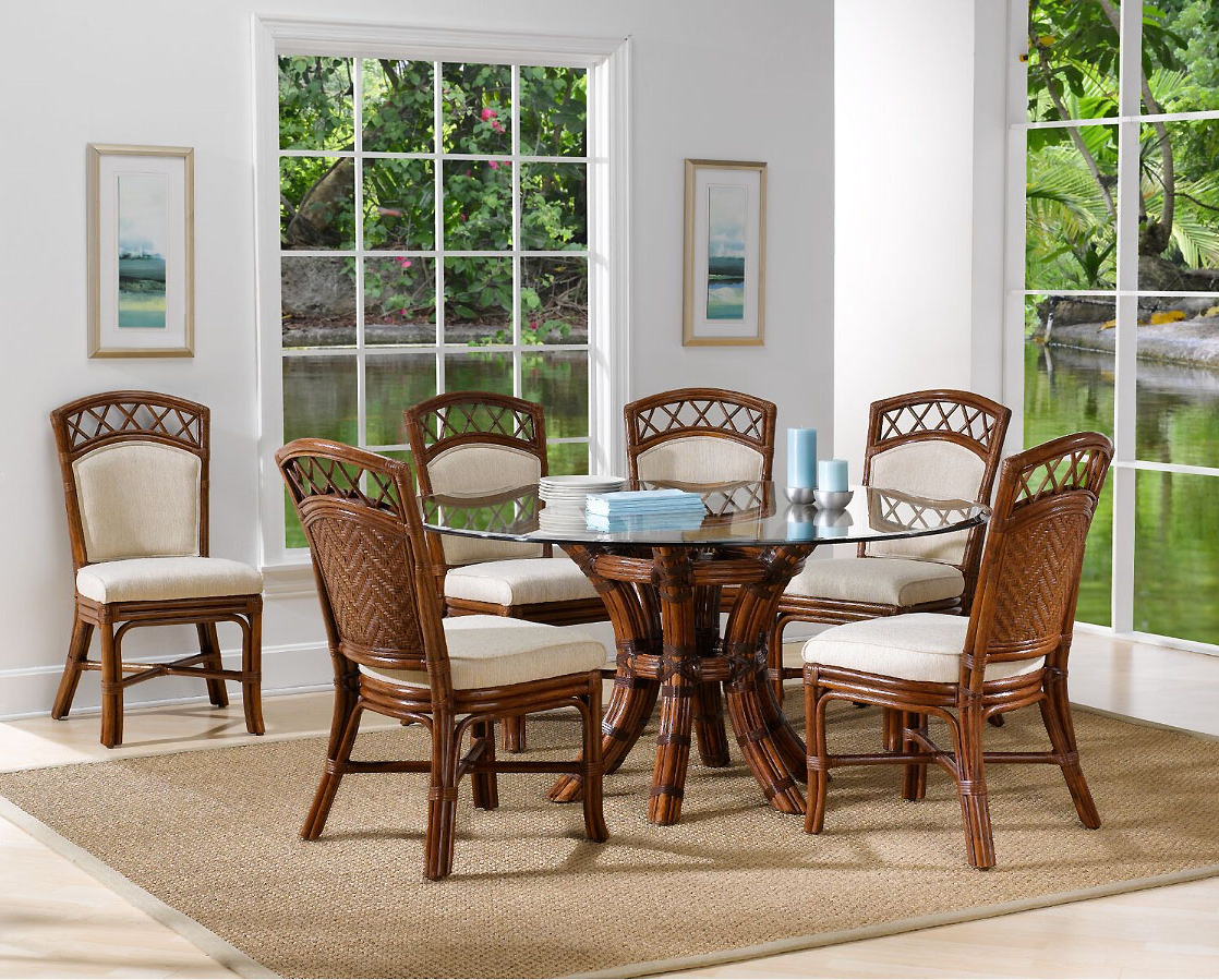 Saint Croix 8 Piece Dining Set With 6 Side Chairs From Classic With Regard To Famous Saintcroix 3 Piece Dining Sets (View 3 of 25)