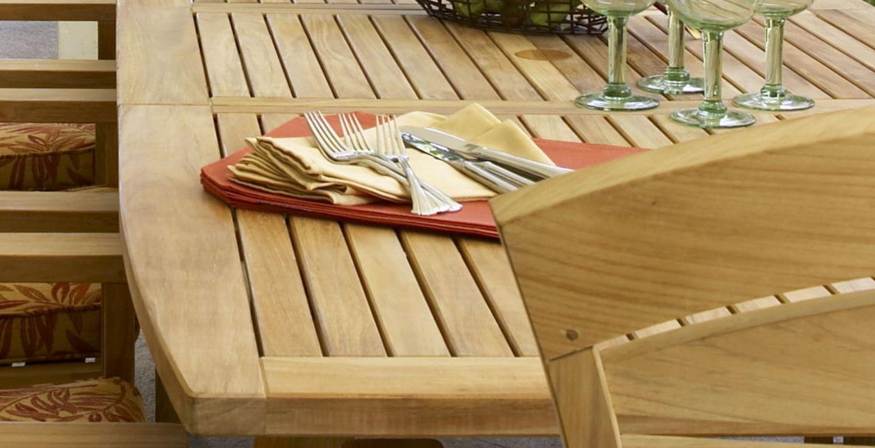 Saintcroix 3 Piece Dining Sets Throughout Trendy Douglas Nance Premium Teak Adirondack Chairs – Teak Adirondack (View 25 of 25)