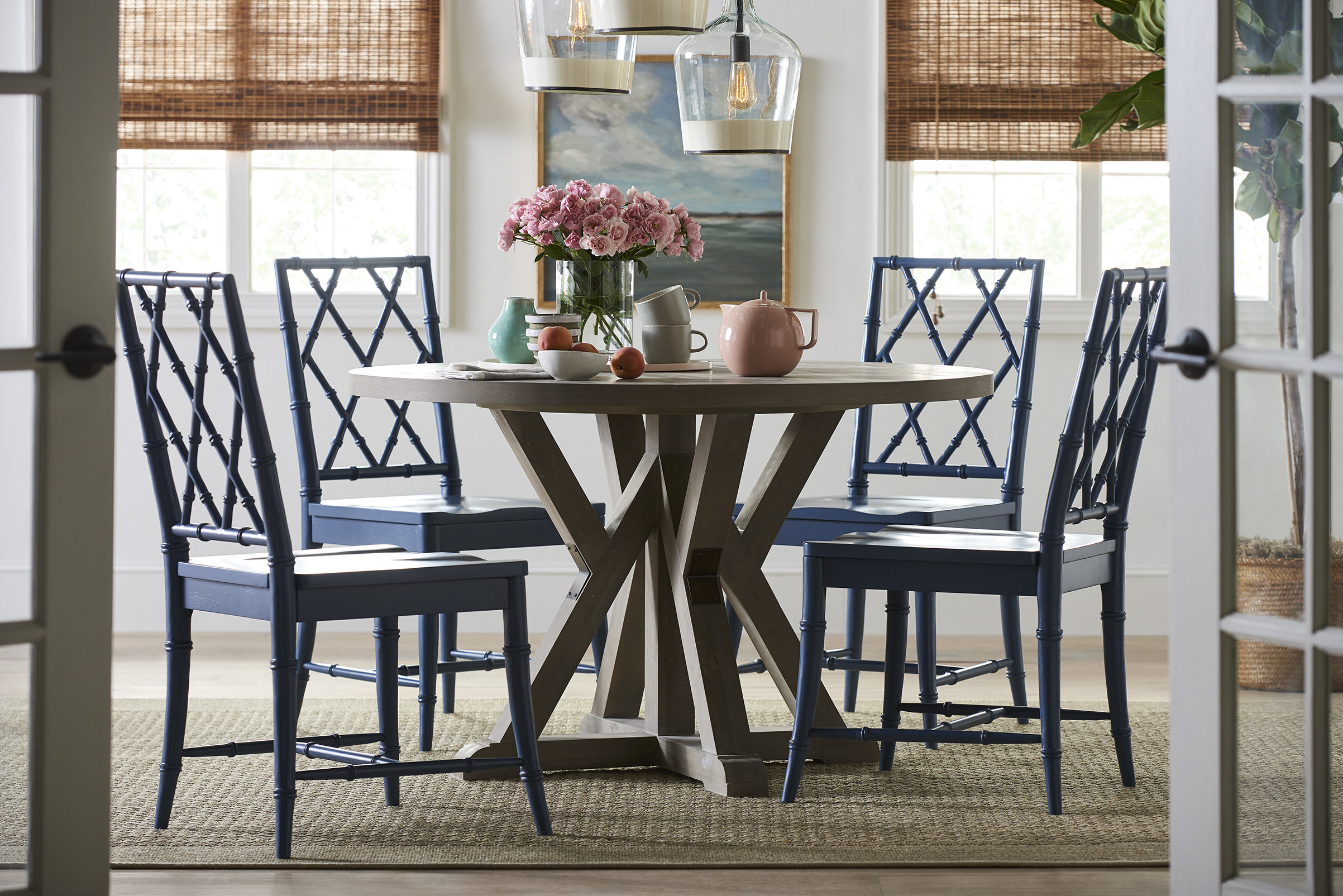 Saintcroix 3 Piece Dining Sets With Latest Younghouselove 5 Piece Dining Set & Reviews (View 20 of 25)