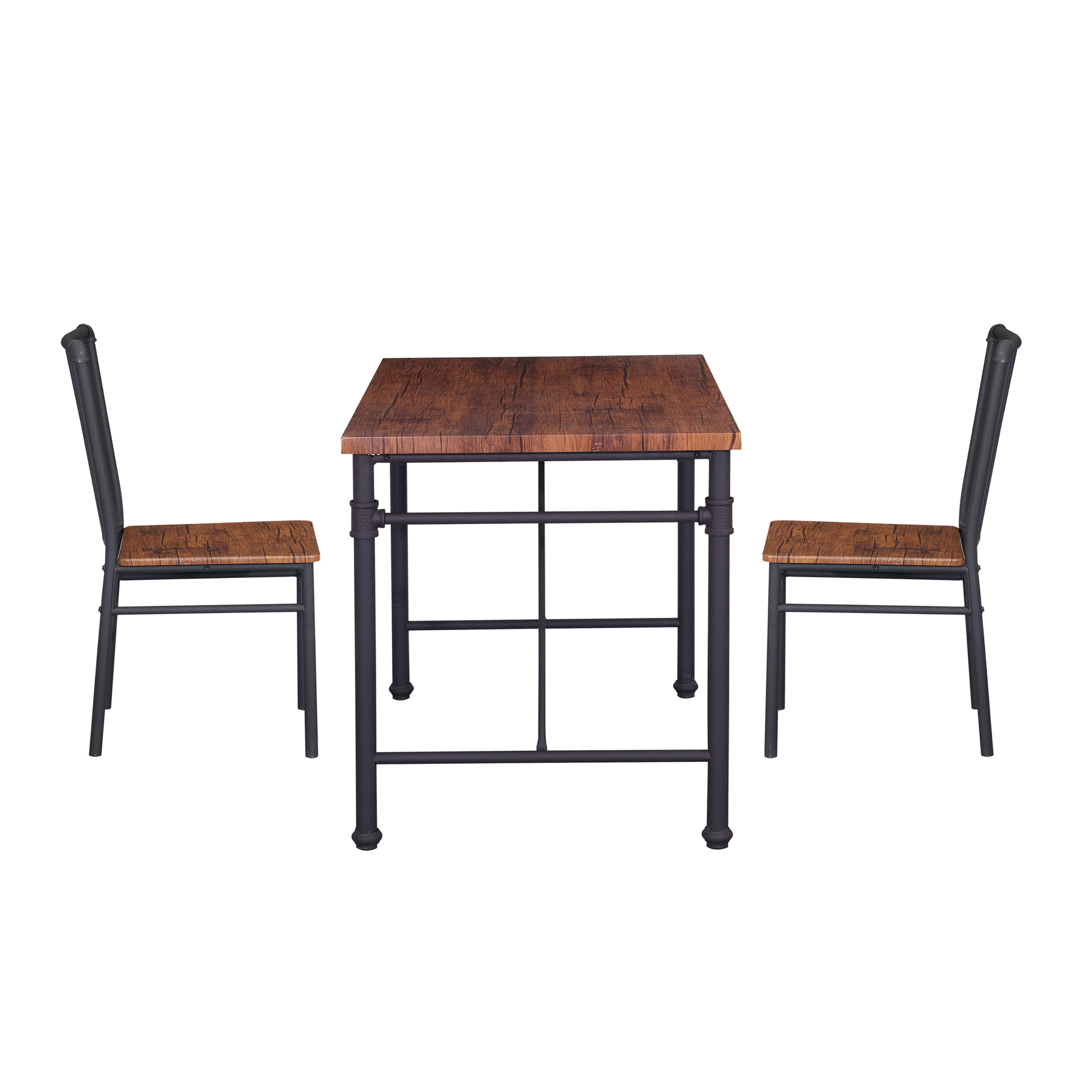 Shepparton Vintage 3 Piece Dining Sets With Regard To Well Known Williston Forge Patterson 3 Piece Chairs Set (View 9 of 25)