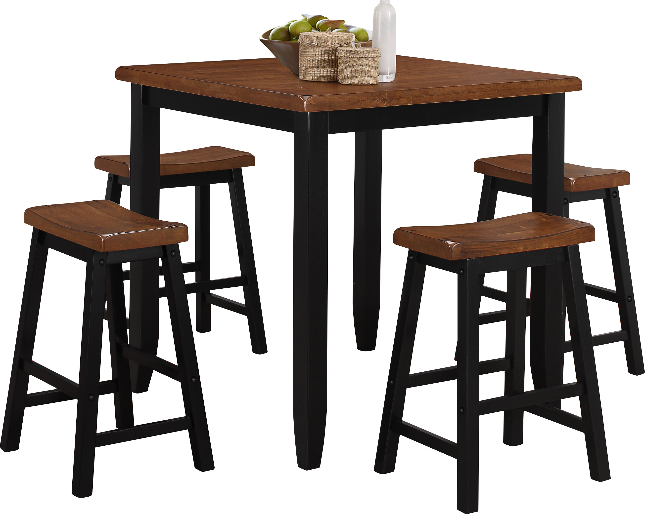 Simmons Casegoods Ruggerio 5 Piece Counter Height Pub Table Set Regarding Preferred Tenney 3 Piece Counter Height Dining Sets (View 11 of 25)