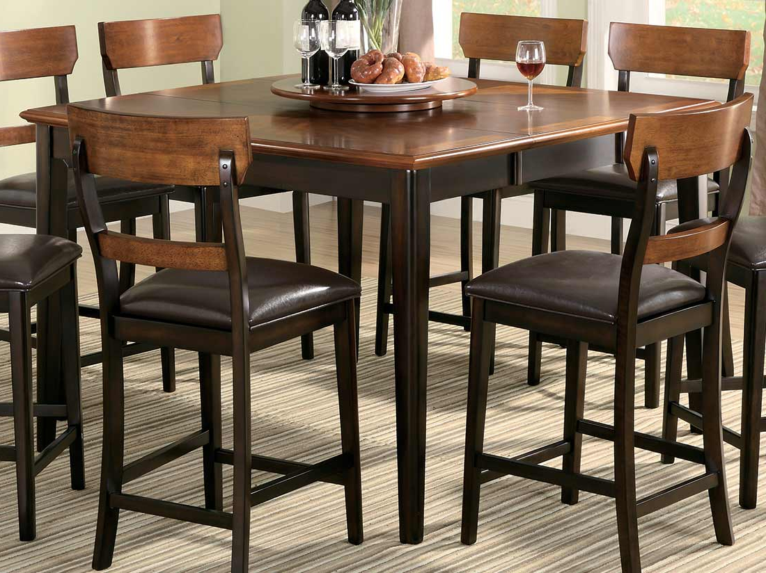 Square Pub Table And Chairs Modern 53 Sets Ly Cilla Rectangle Bar In 2020 Winsome 3 Piece Counter Height Dining Sets (View 21 of 25)