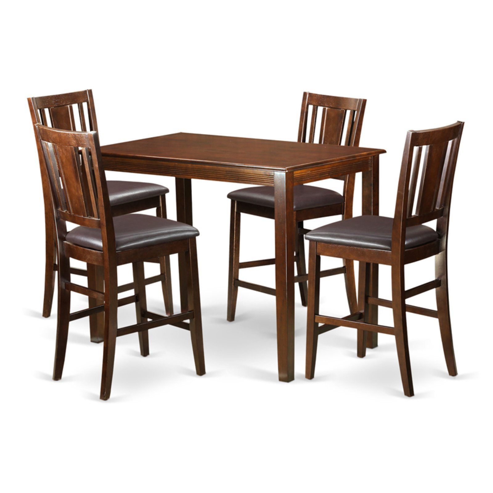 Sundberg 5 Piece Solid Wood Dining Sets Regarding Most Popular East West Furniture Yarmouth 5 Piece Scotch Art Dining Table Set (View 18 of 25)