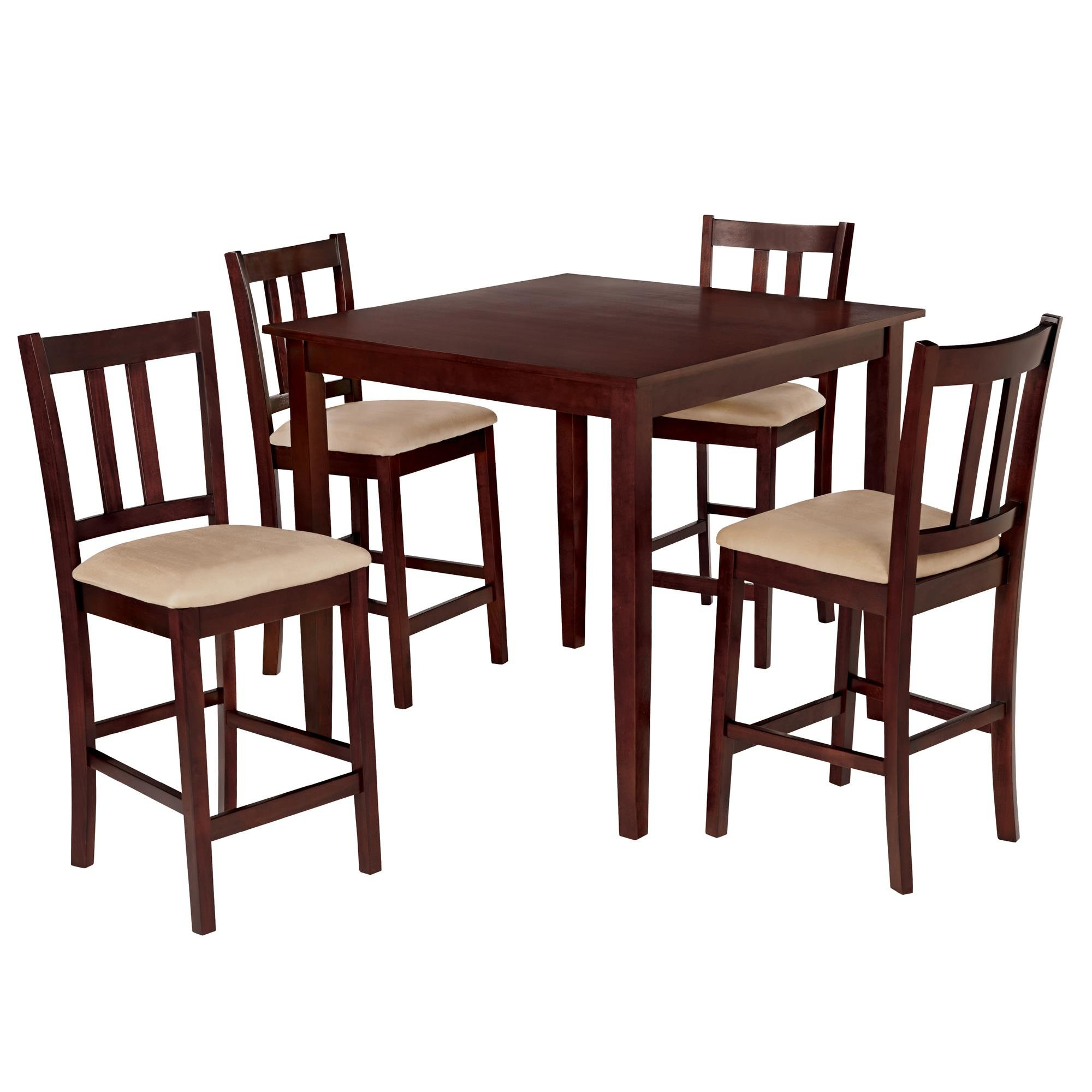 Sundberg 5 Piece Solid Wood Dining Sets With Famous Charlton Home Atterberry 5 Piece Solid Wood Dining Set & Reviews (View 19 of 25)