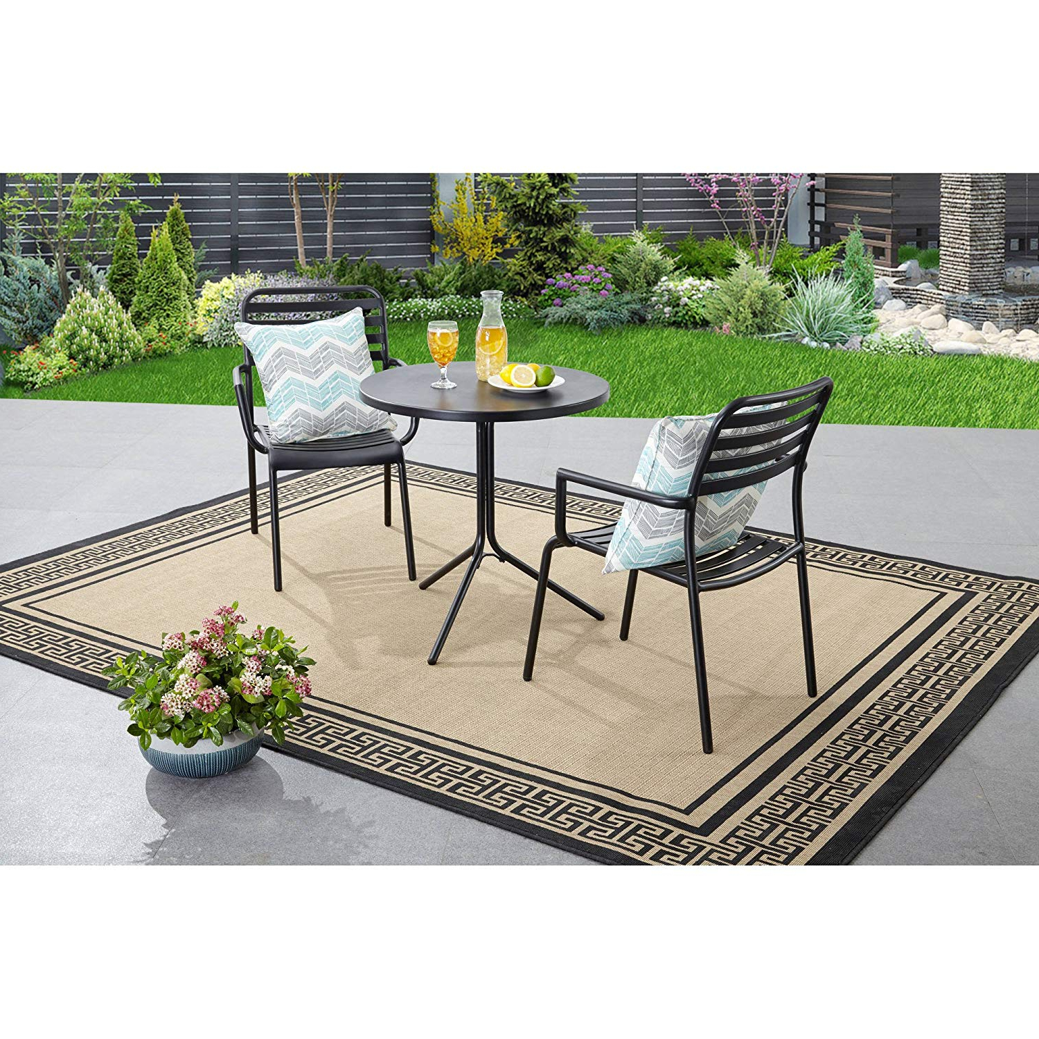 Tarleton 5 Piece Dining Sets In Fashionable Amazon : Better Homes And Gardens Tarleton 3 Piece Bistro Set (View 5 of 25)