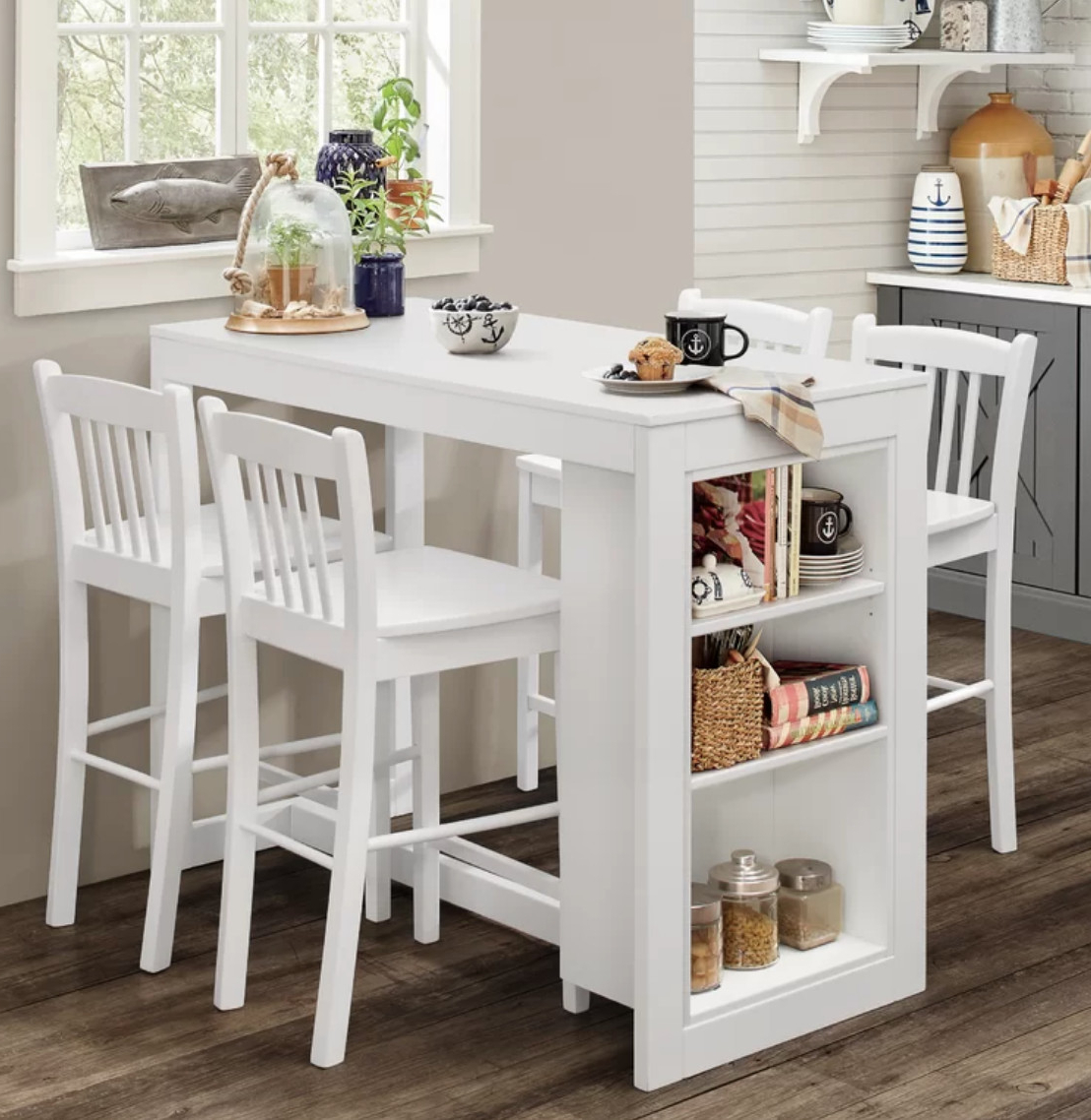 Taulbee 5 Piece Dining Sets Regarding Famous Dining Tables For Small Spaces – Small Spaces – Lonny (View 23 of 25)