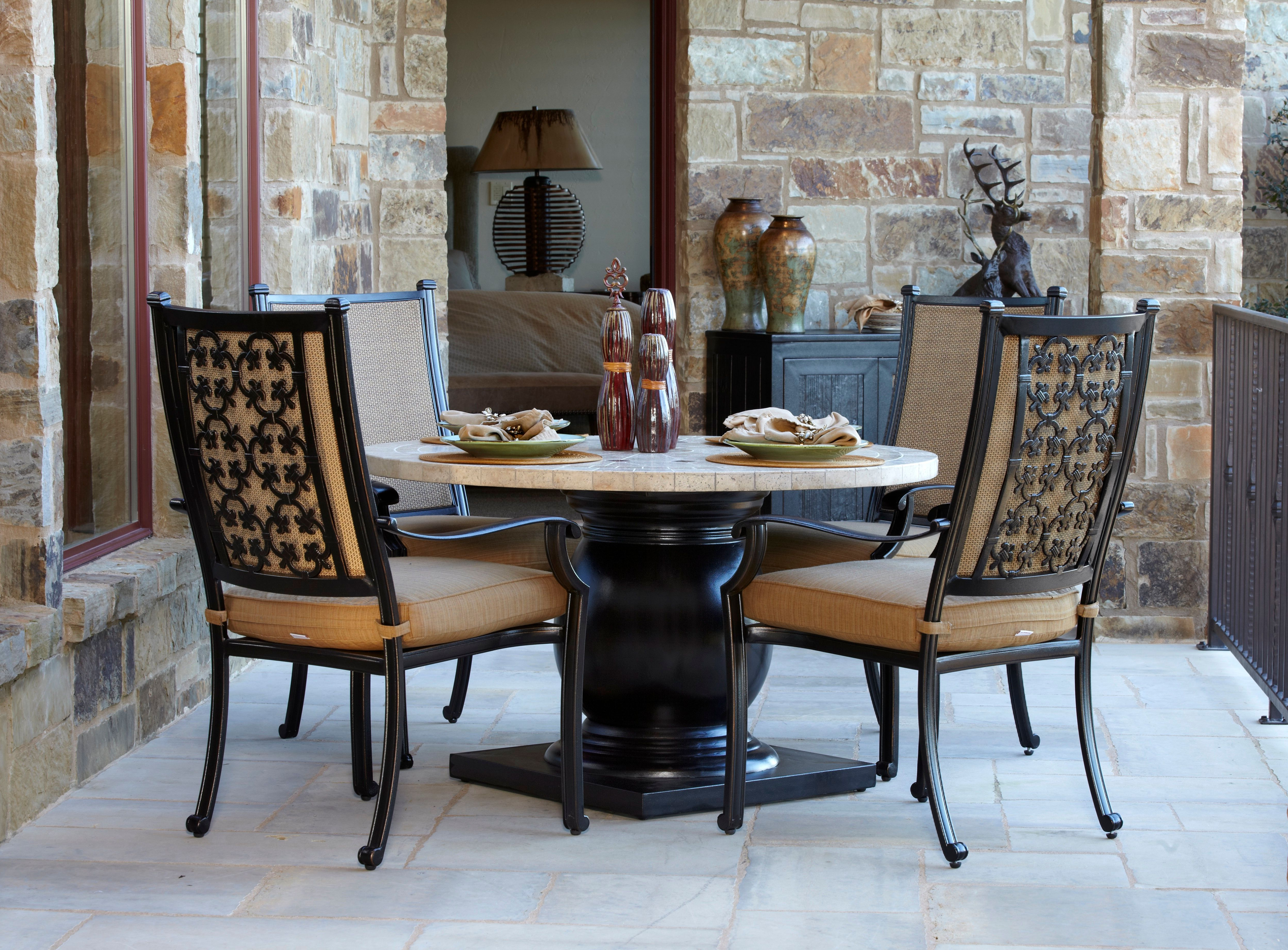 Tivoli 5 Piece Sling Dining Set Throughout Most Up To Date 5 Piece Dining Sets (View 25 of 25)