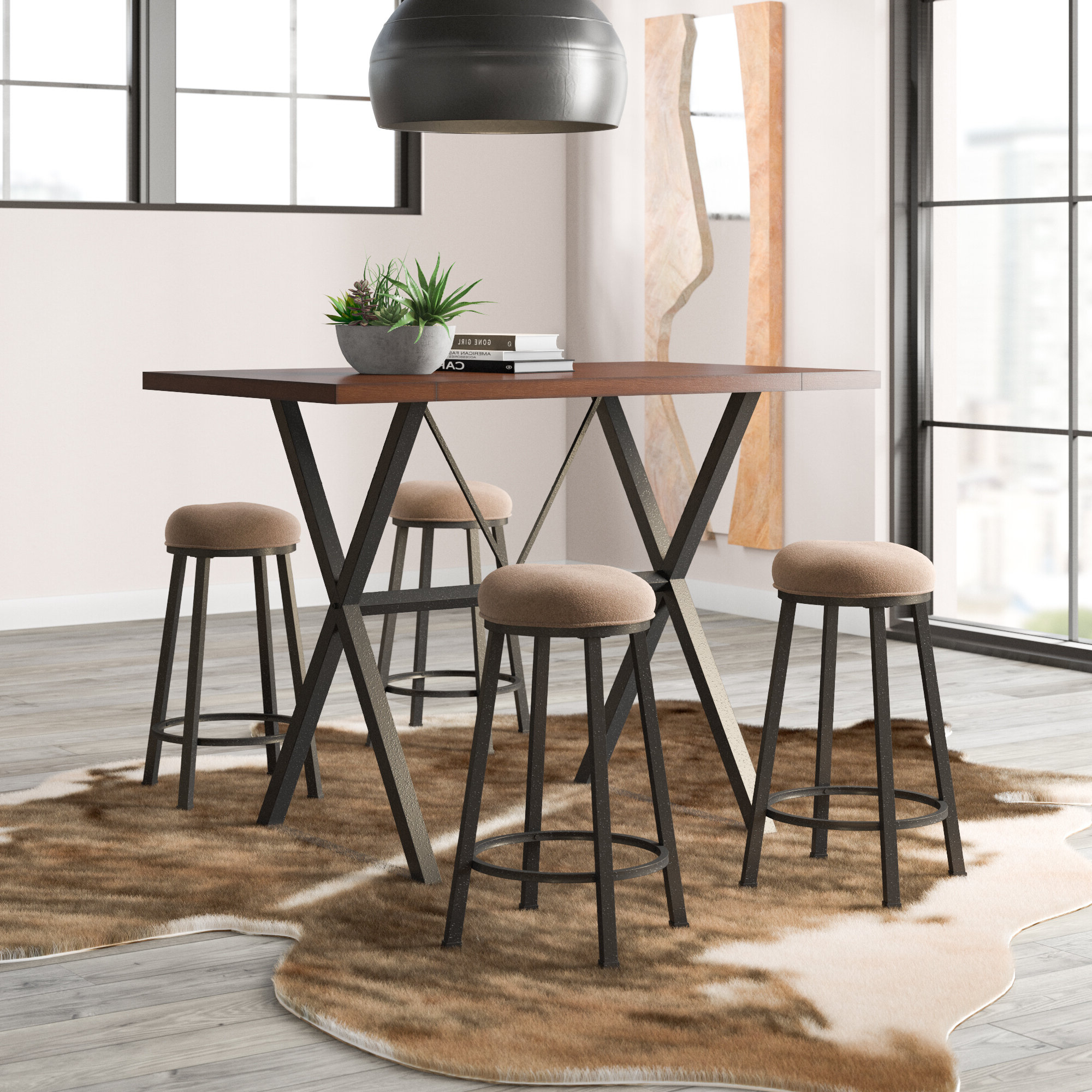 Trent Austin Design Gladeview 5 Piece Dining Set & Reviews (View 15 of 25)