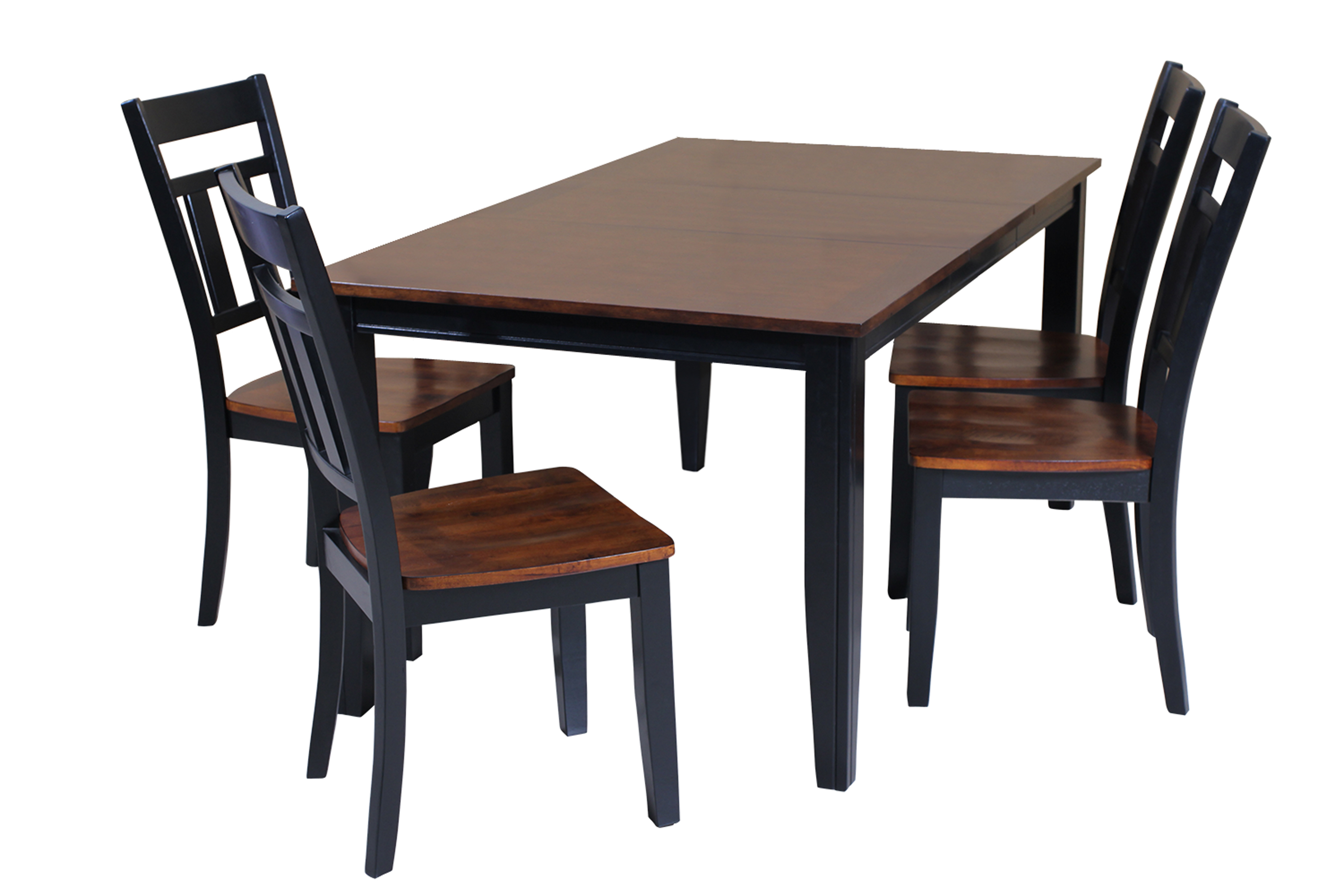 Ttp Furnish Regarding Well Liked Adan 5 Piece Solid Wood Dining Sets (Set Of 5) (View 12 of 25)