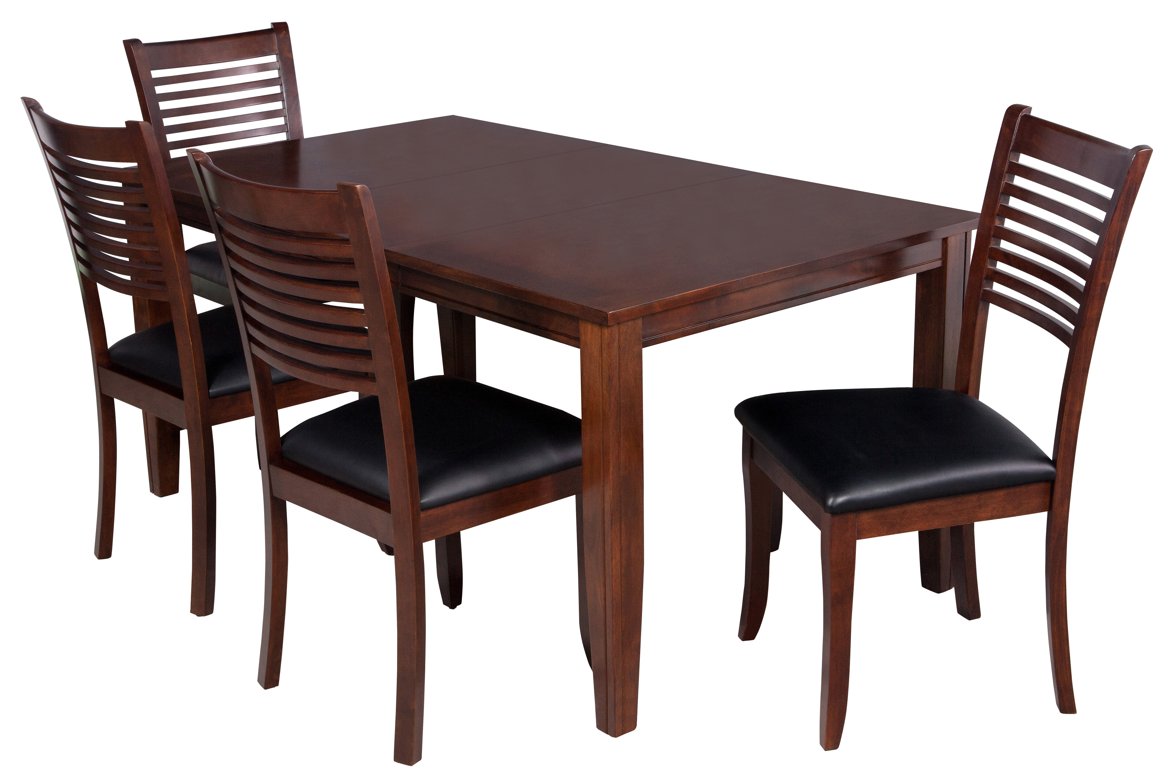 Ttp Furnish Within Well Liked Adan 5 Piece Solid Wood Dining Sets (Set Of 5) (View 14 of 25)