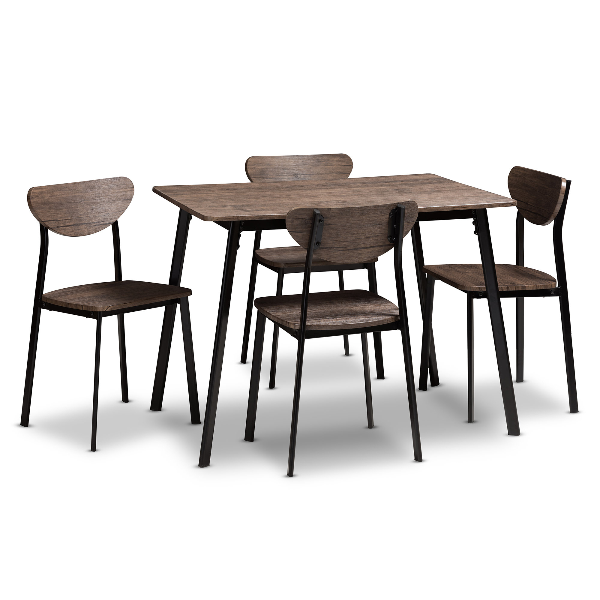 Union Rustic Tejeda 5 Piece Dining Set & Reviews (View 15 of 25)