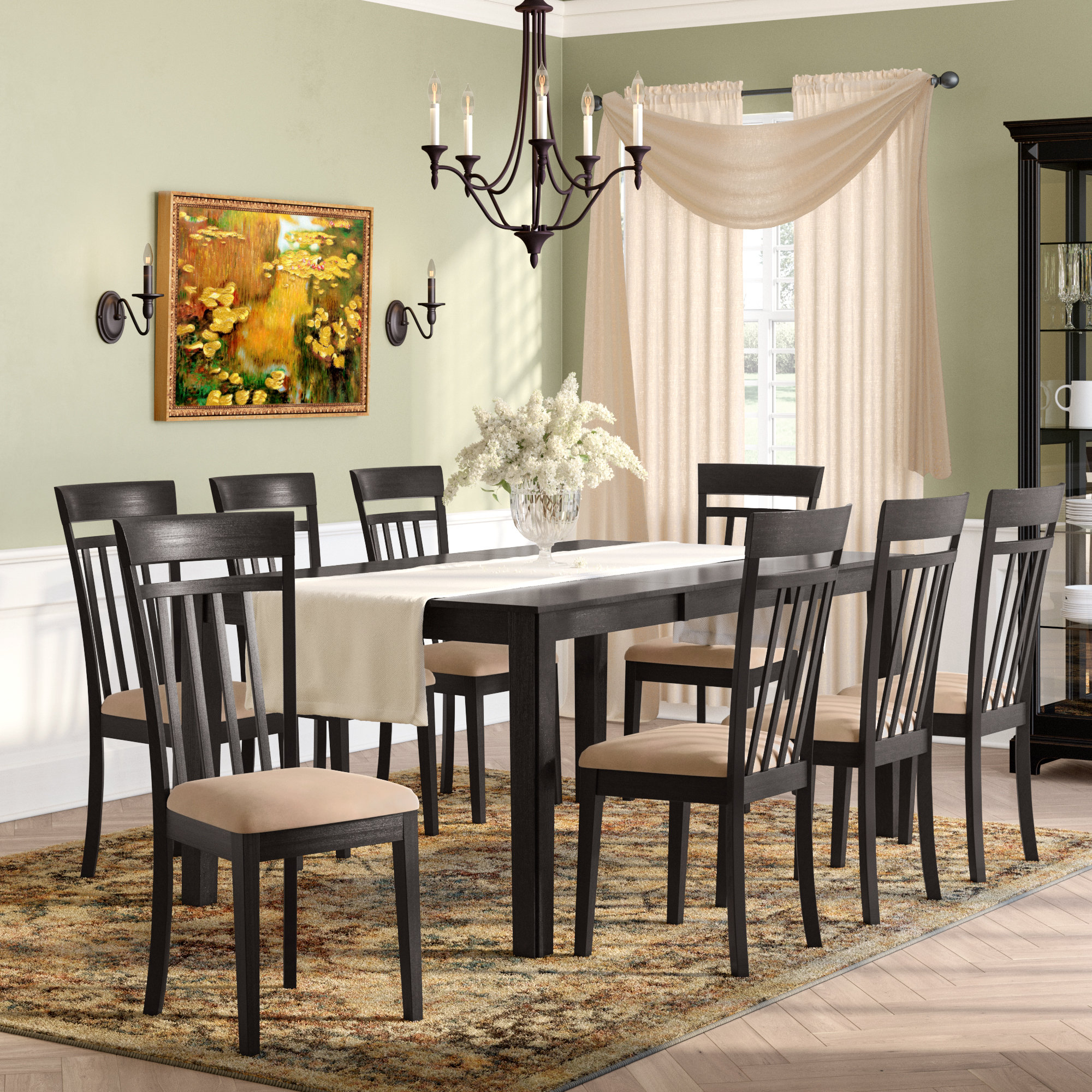Featured Photo of Smyrna 3 Piece Dining Sets