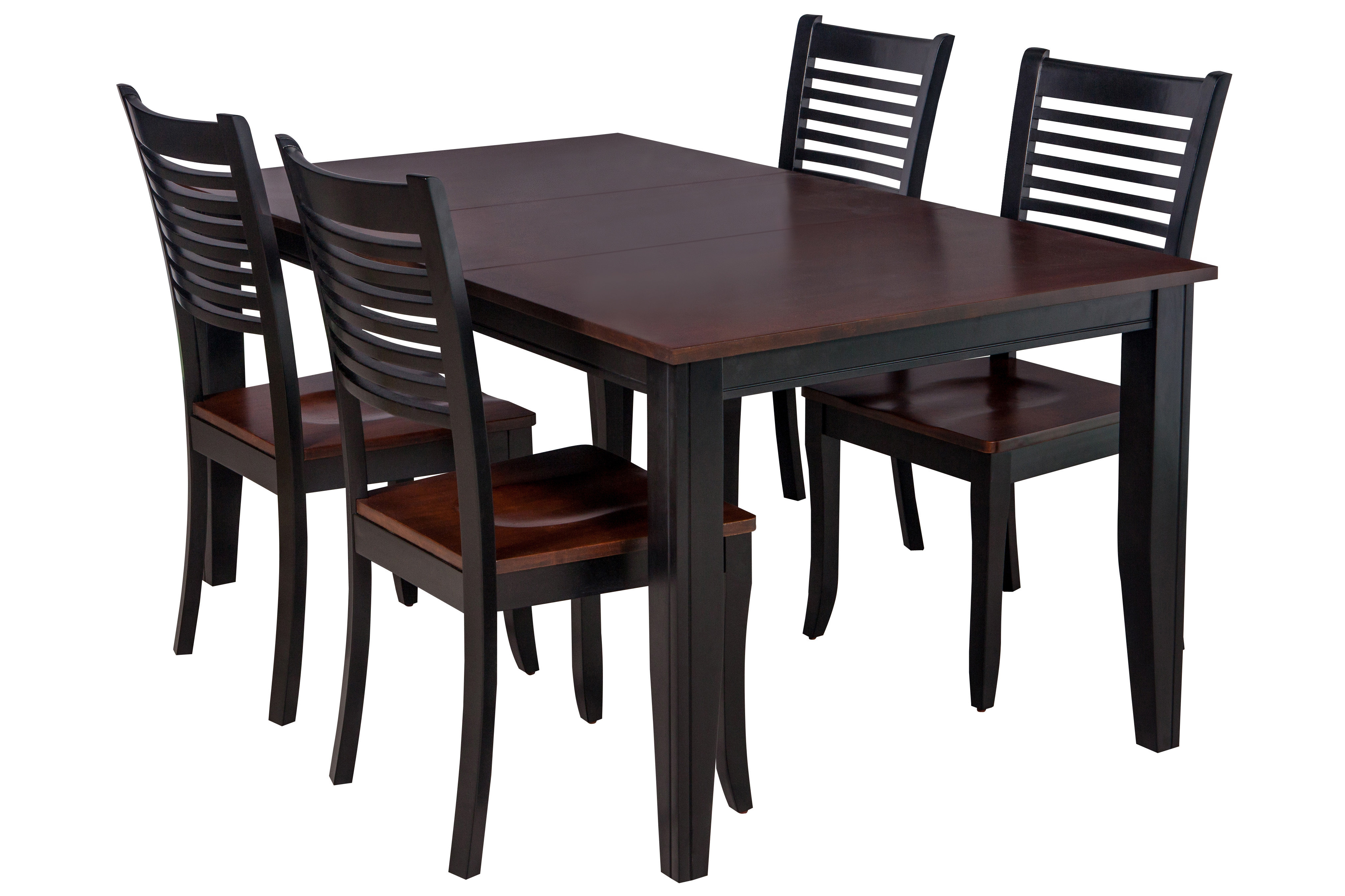 Featured Photo of Adan 5 Piece Solid Wood Dining Sets (Set Of 5)