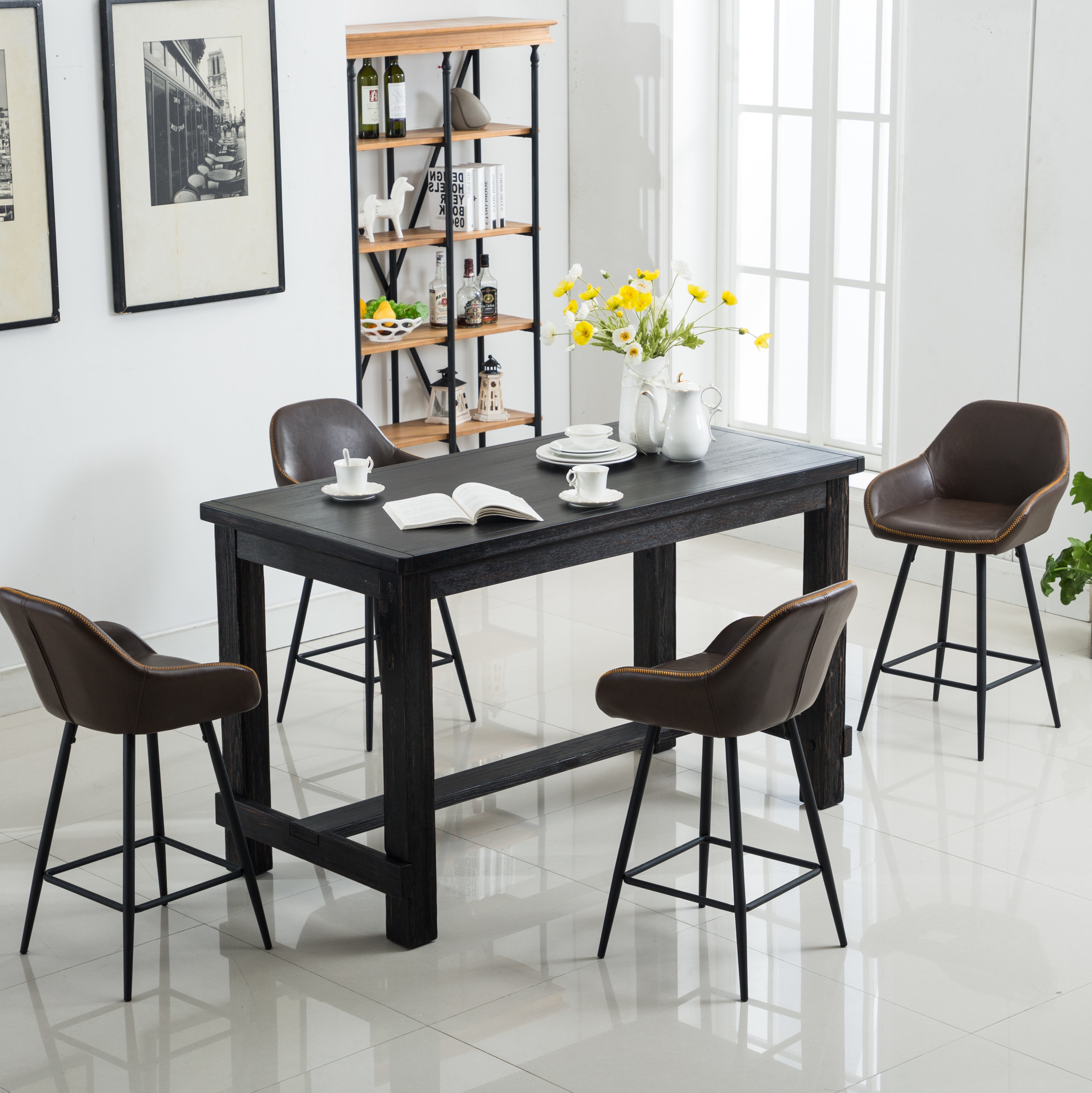 Wayfair For Mulvey 5 Piece Dining Sets (View 16 of 25)