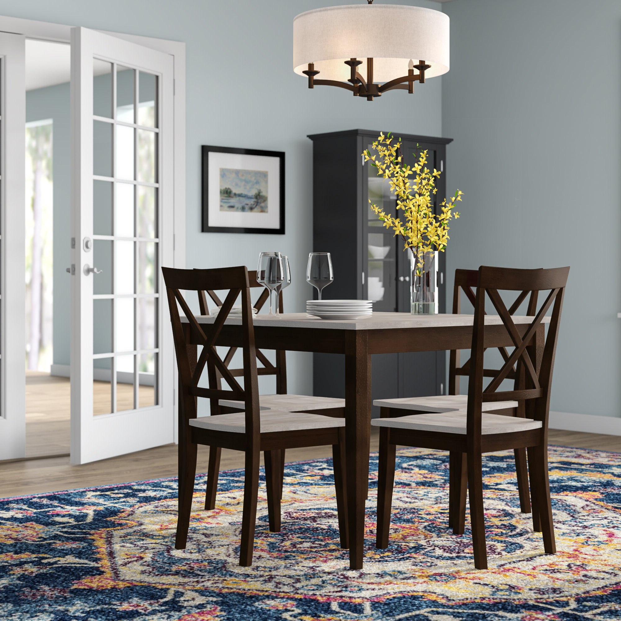 Wayfair For West Hill Family Table 3 Piece Dining Sets (View 17 of 25)