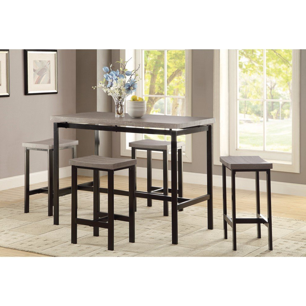 Wayfair In Kernville 3 Piece Counter Height Dining Sets (View 11 of 25)