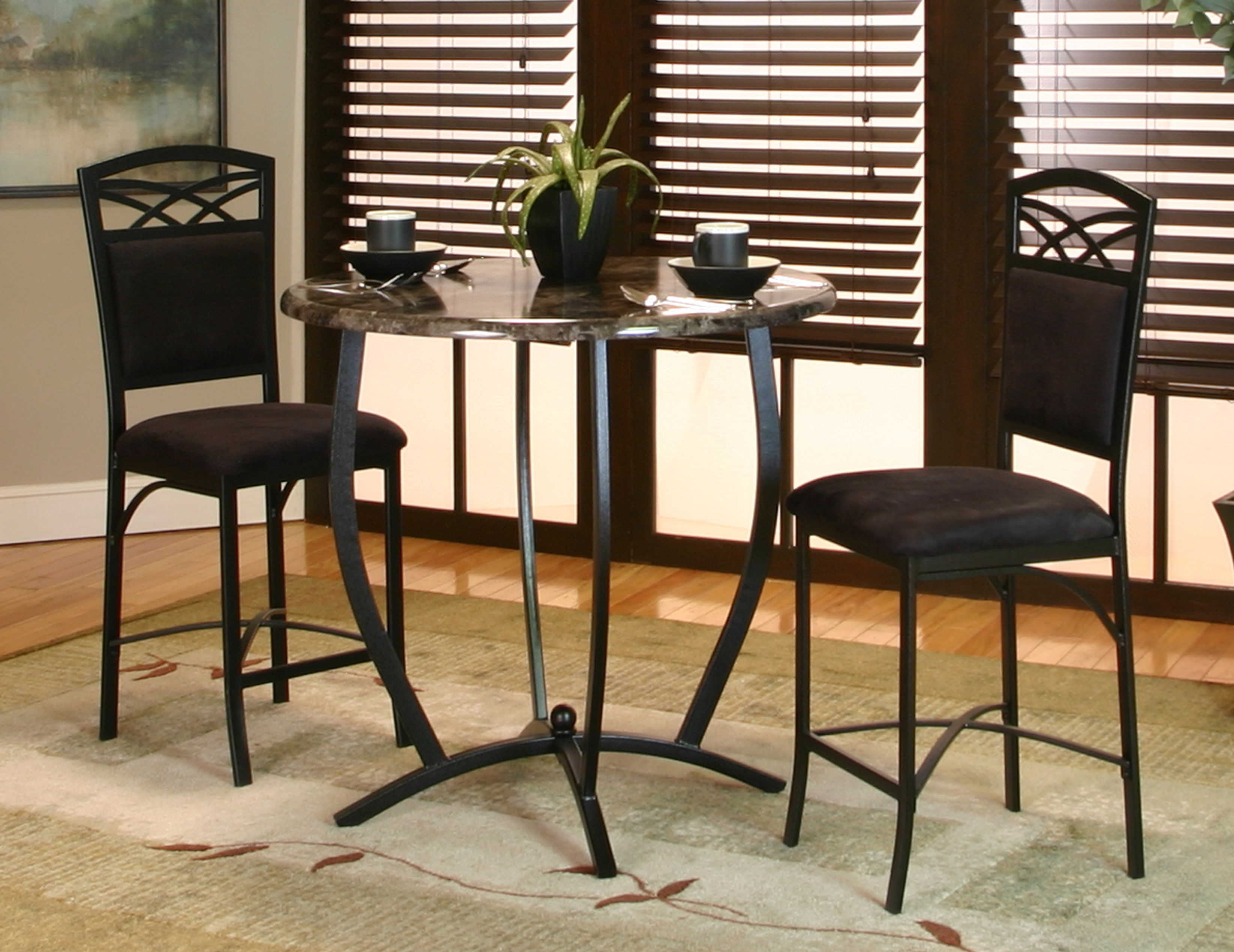 Wayfair In Mizpah 3 Piece Counter Height Dining Sets (View 2 of 25)