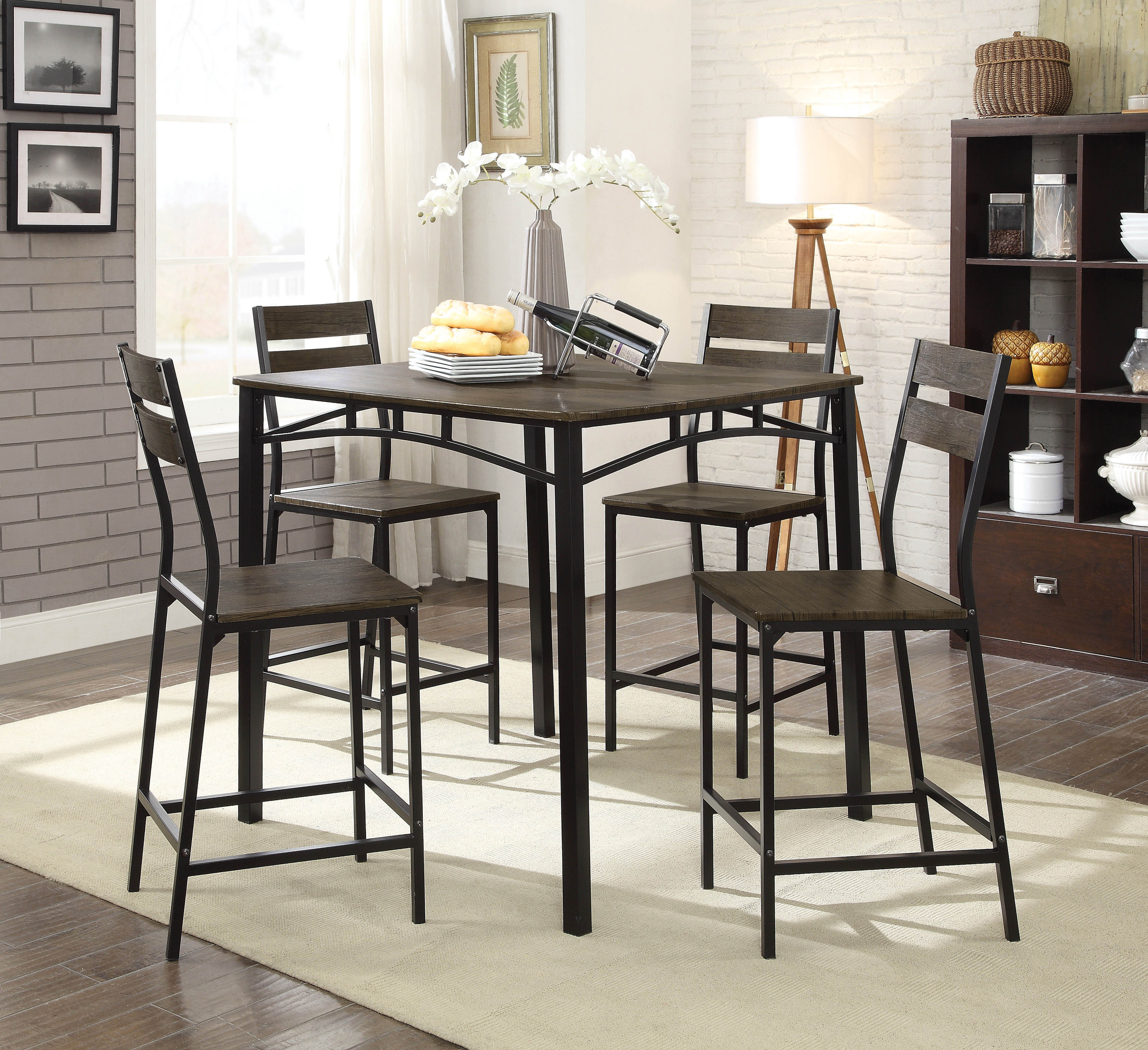 Wayfair In Newest Lightle 5 Piece Breakfast Nook Dining Sets (View 23 of 25)