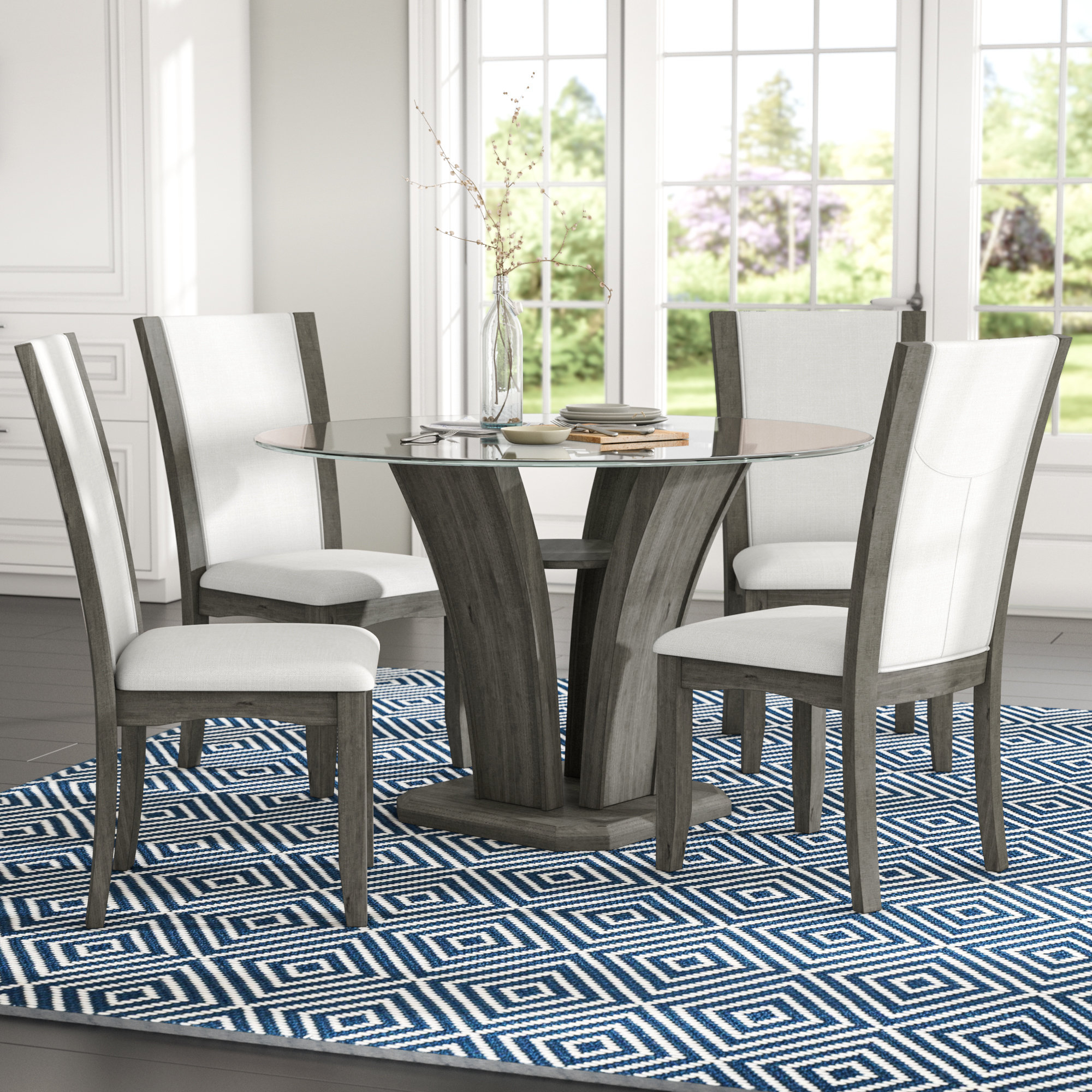 Wayfair In Springfield 3 Piece Dining Sets (View 16 of 25)