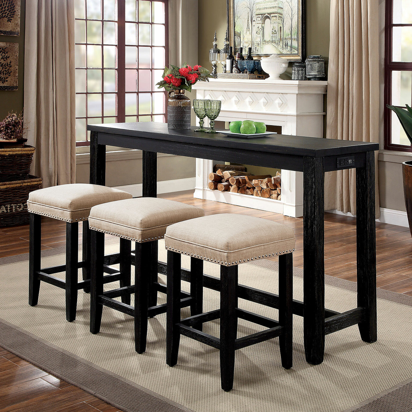 Wayfair In Well Known Wallflower 3 Piece Dining Sets (View 2 of 25)
