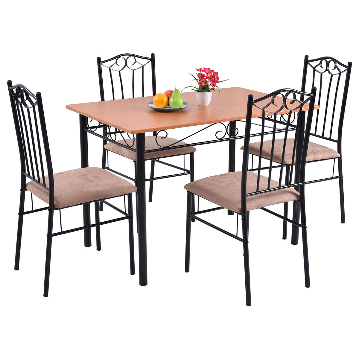 Wayfair Inside Jarrod 5 Piece Dining Sets (View 15 of 25)