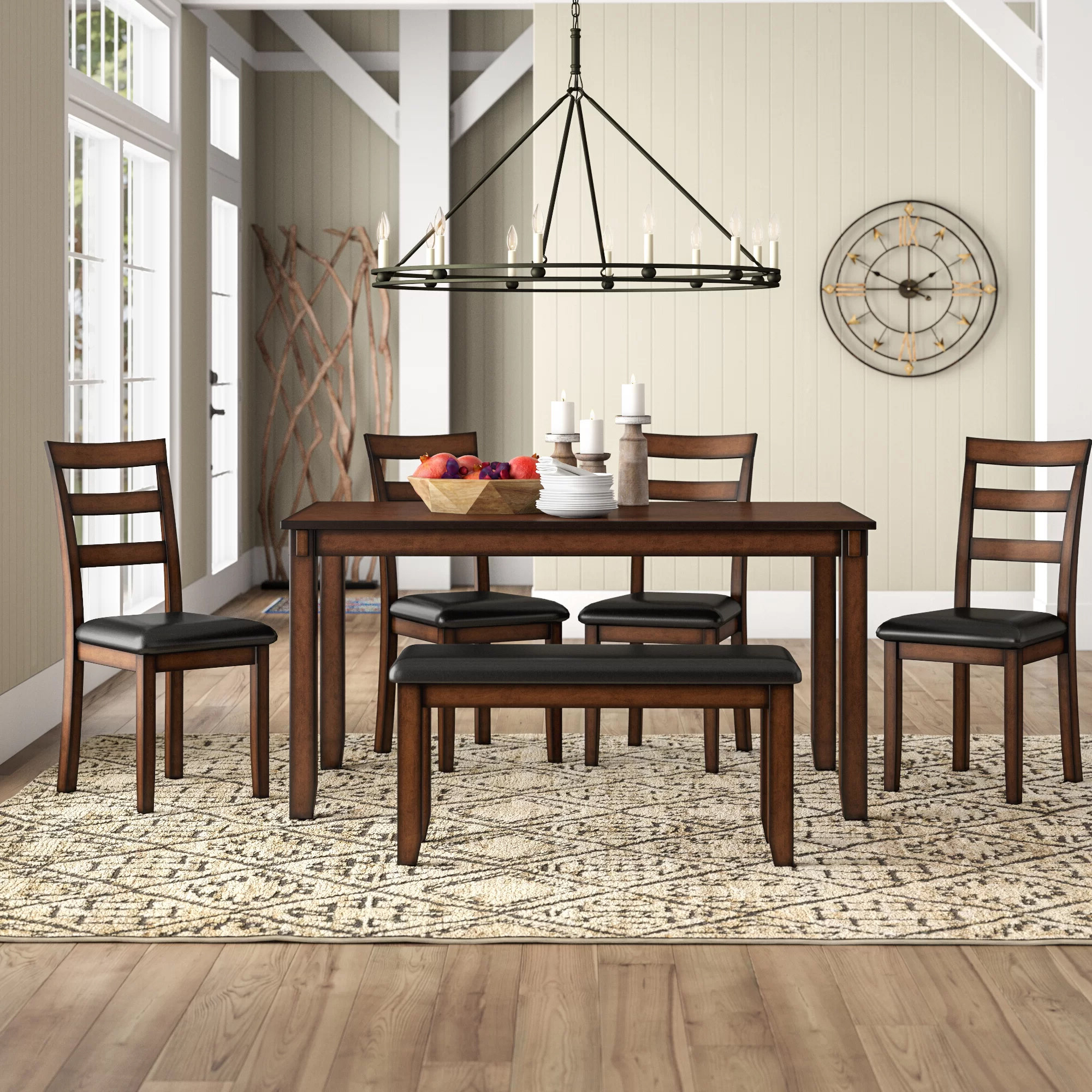 Wayfair Inside Shepparton Vintage 3 Piece Dining Sets (View 11 of 25)