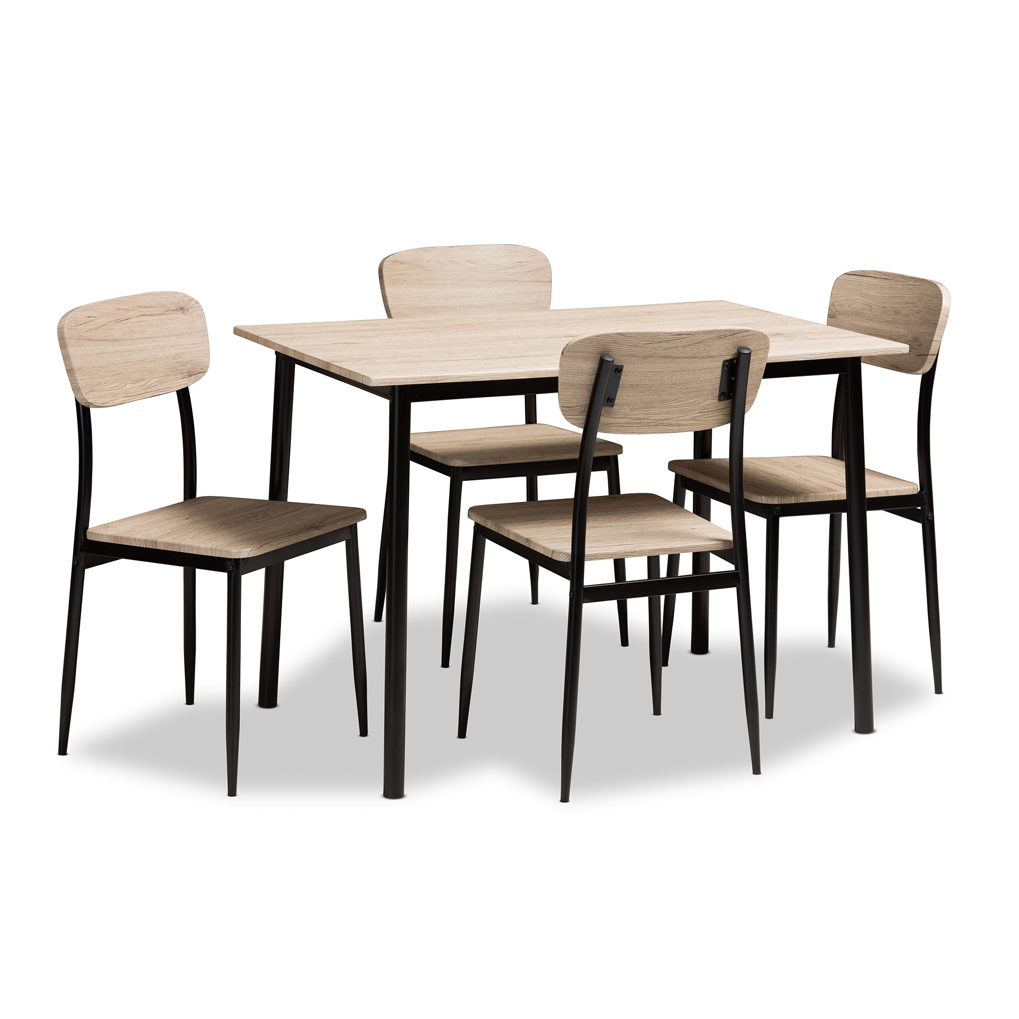 Wayfair Inside Telauges 5 Piece Dining Sets (View 3 of 25)