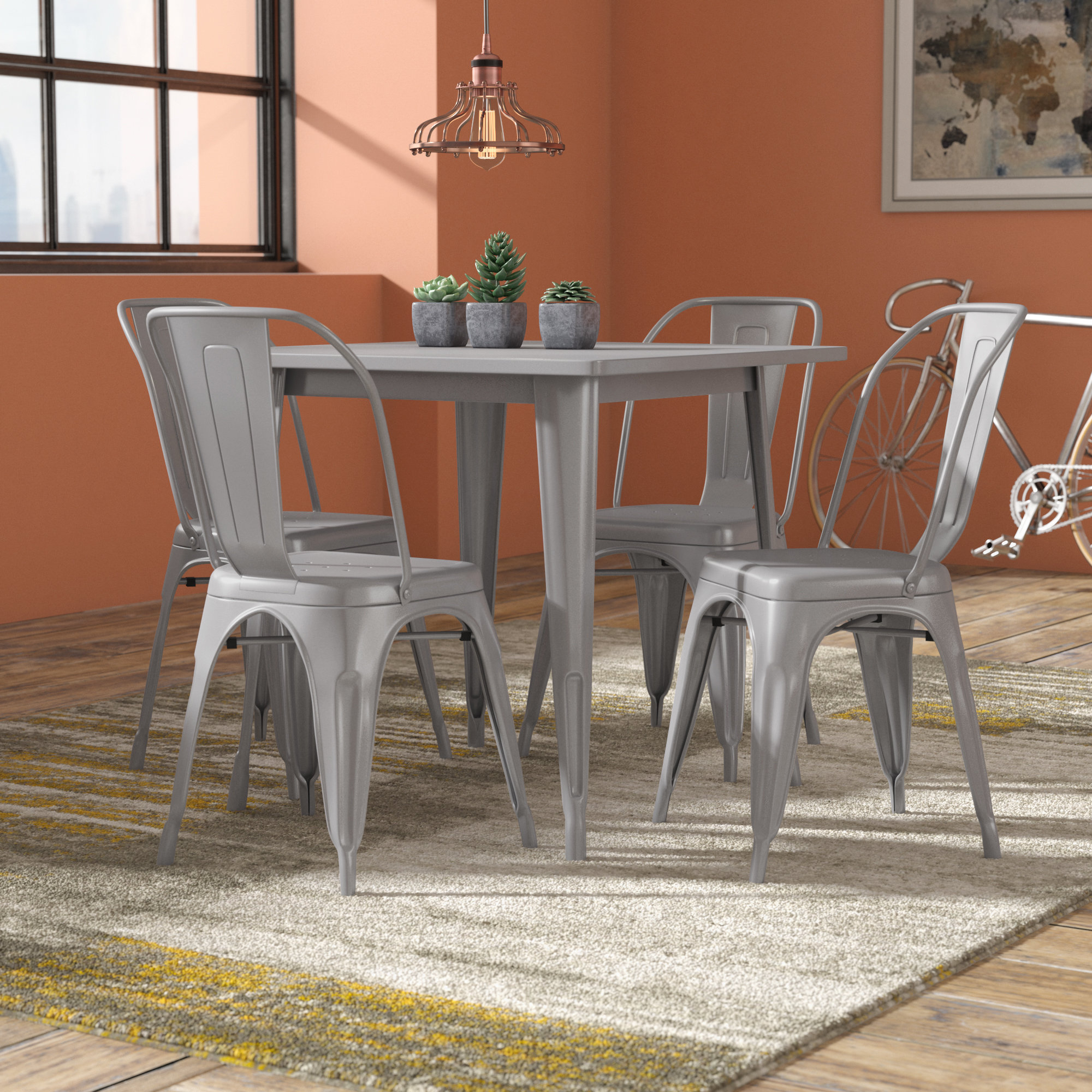 Wayfair Intended For Mulvey 5 Piece Dining Sets (View 18 of 25)