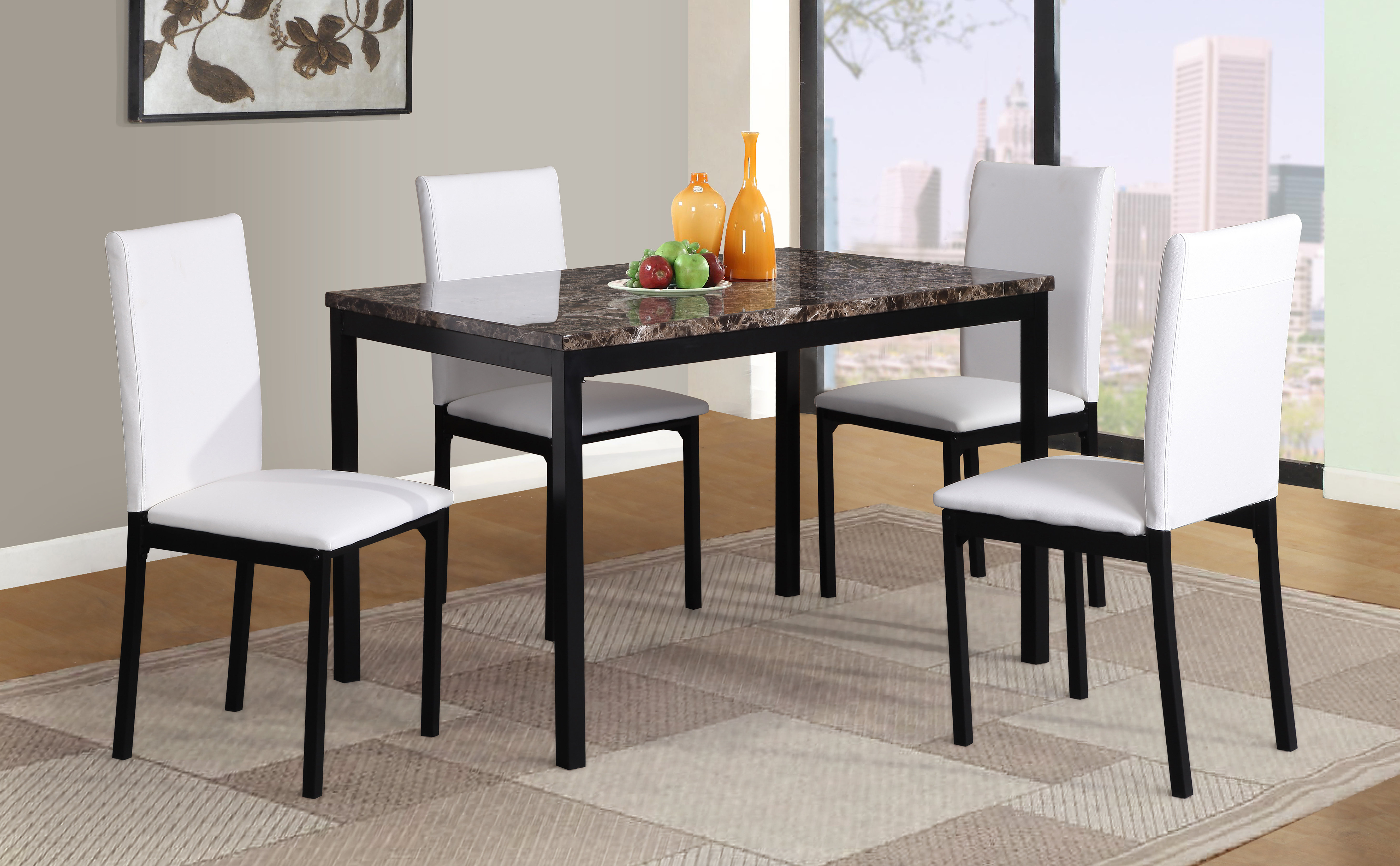 Wayfair Intended For Popular Travon 5 Piece Dining Sets (View 17 of 25)
