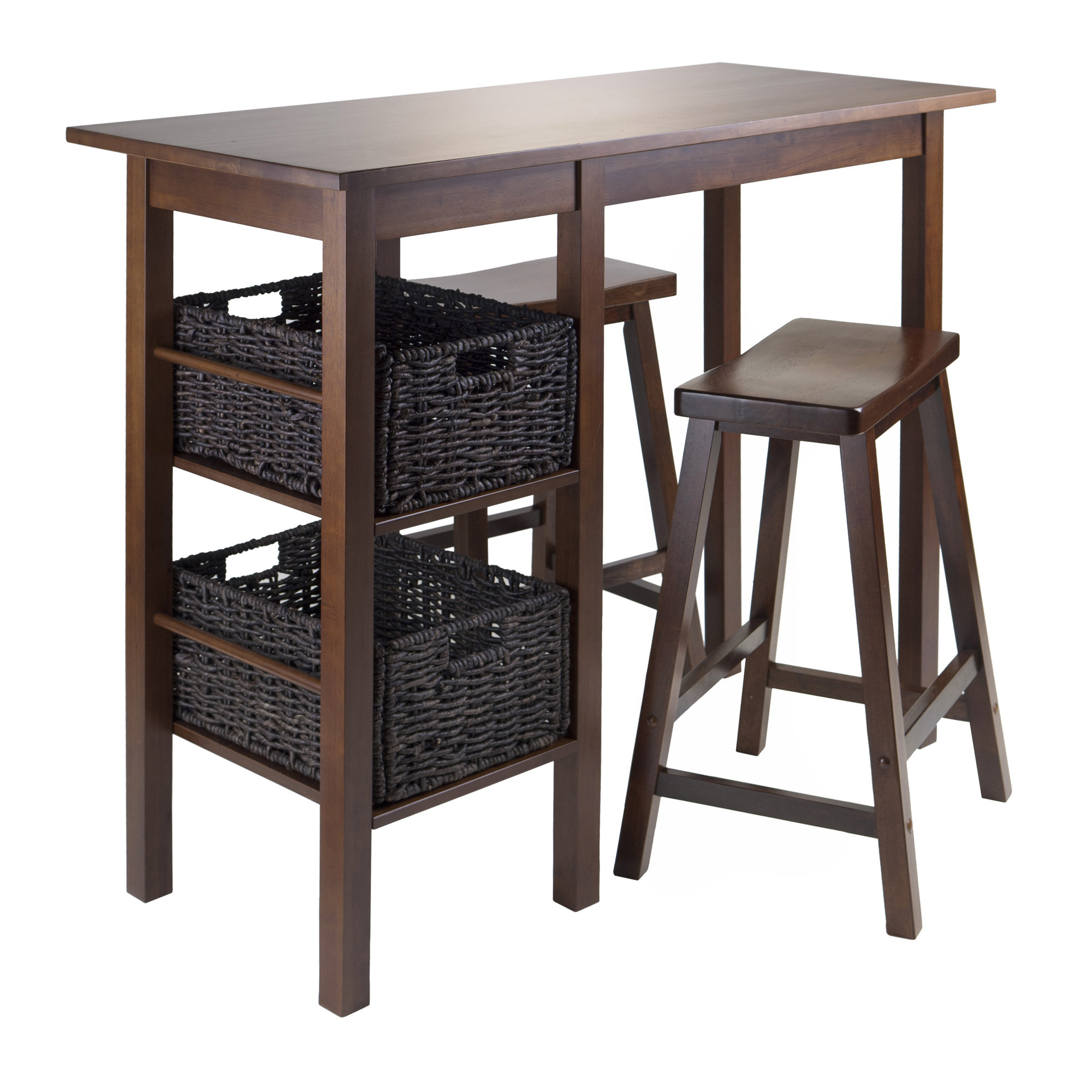 Wayfair Intended For Poynter 3 Piece Drop Leaf Dining Sets (View 12 of 25)