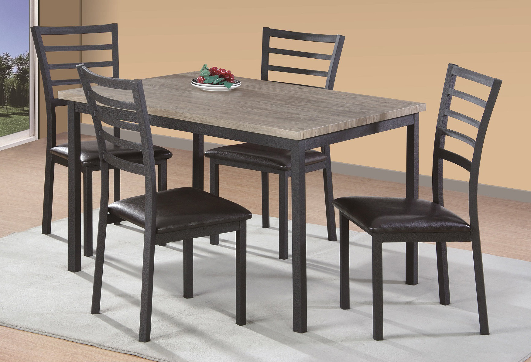Wayfair Pertaining To Well Liked Taulbee 5 Piece Dining Sets (View 9 of 25)