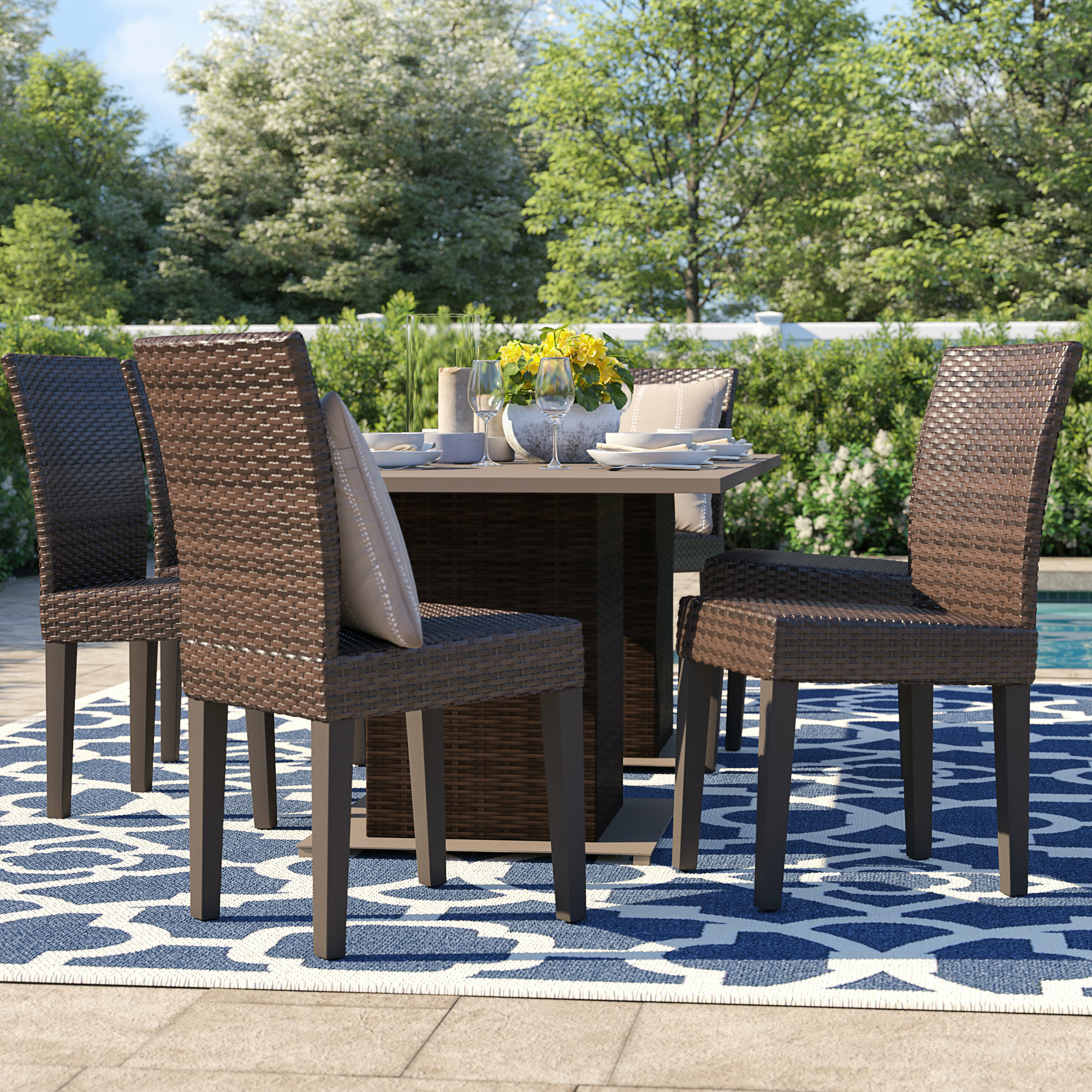 Wayfair Regarding Widely Used Rossi 5 Piece Dining Sets (View 22 of 25)