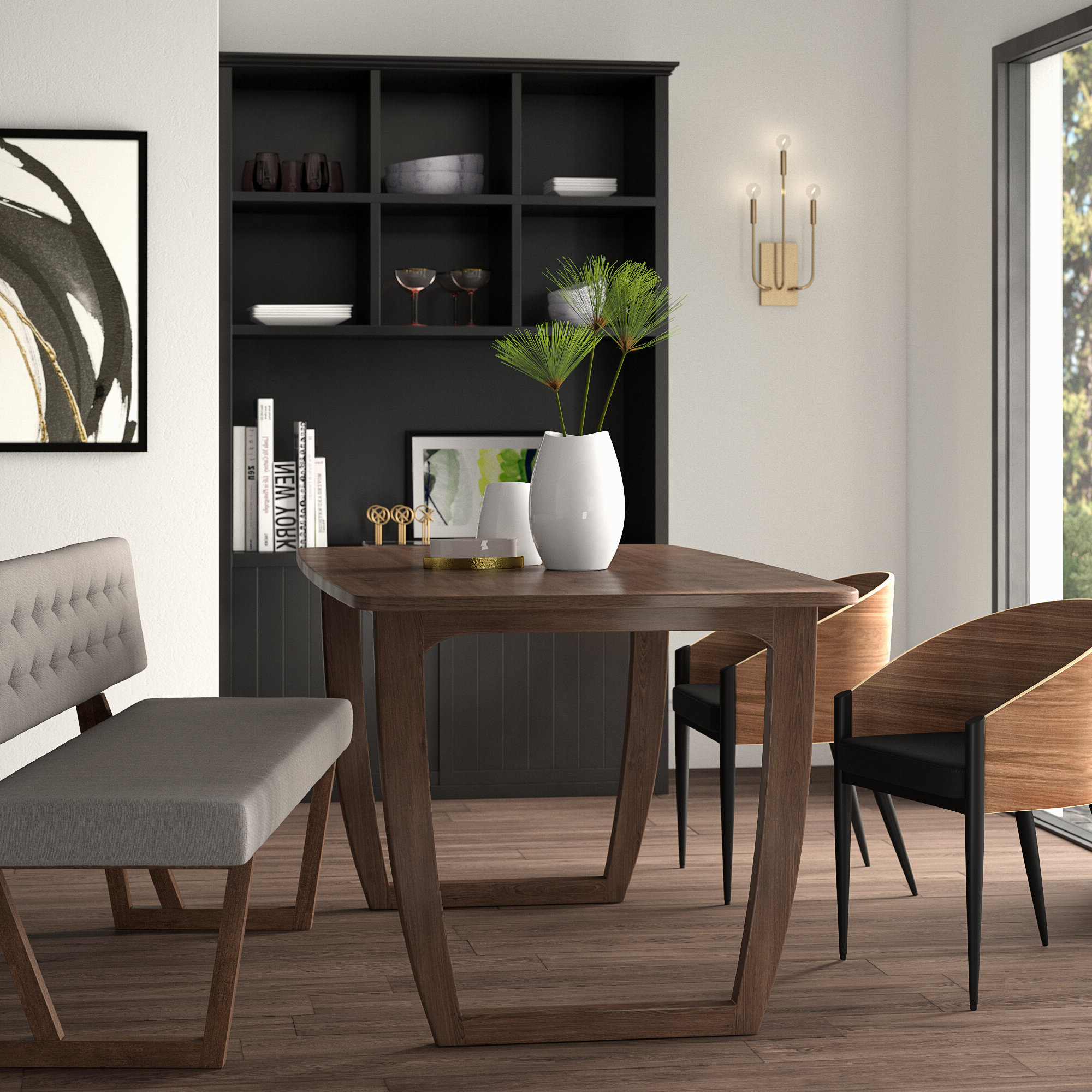 Wayfair Throughout Mukai 5 Piece Dining Sets (View 19 of 25)