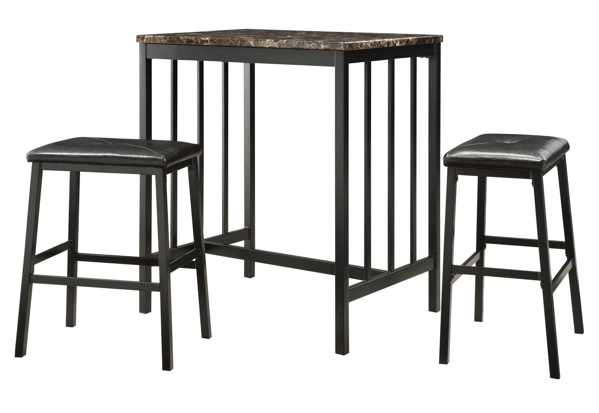 Wayfair With Current Askern 3 Piece Counter Height Dining Sets (Set Of 3) (View 6 of 25)