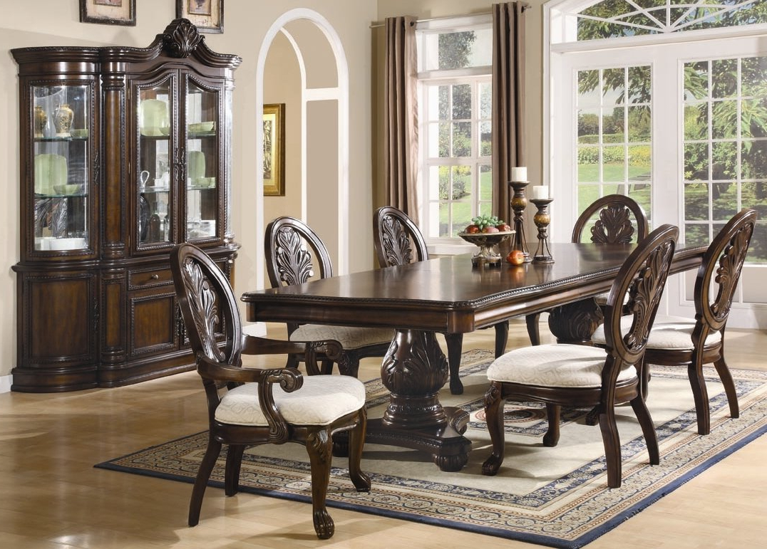 Wayfair With Regard To Laconia 7 Pieces Solid Wood Dining Sets (Set Of 7) (View 23 of 25)