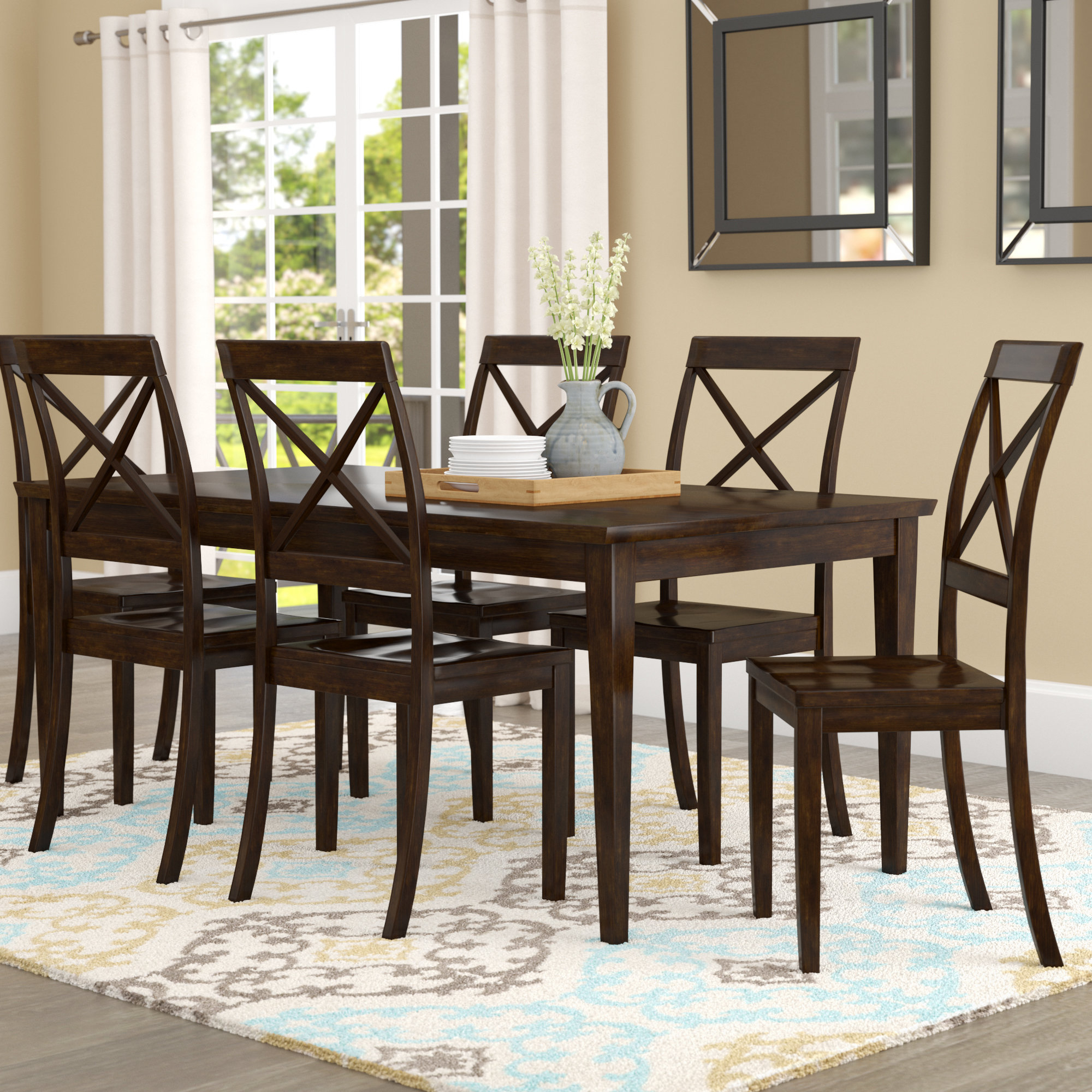 Wayfair With Smyrna 3 Piece Dining Sets (View 23 of 25)
