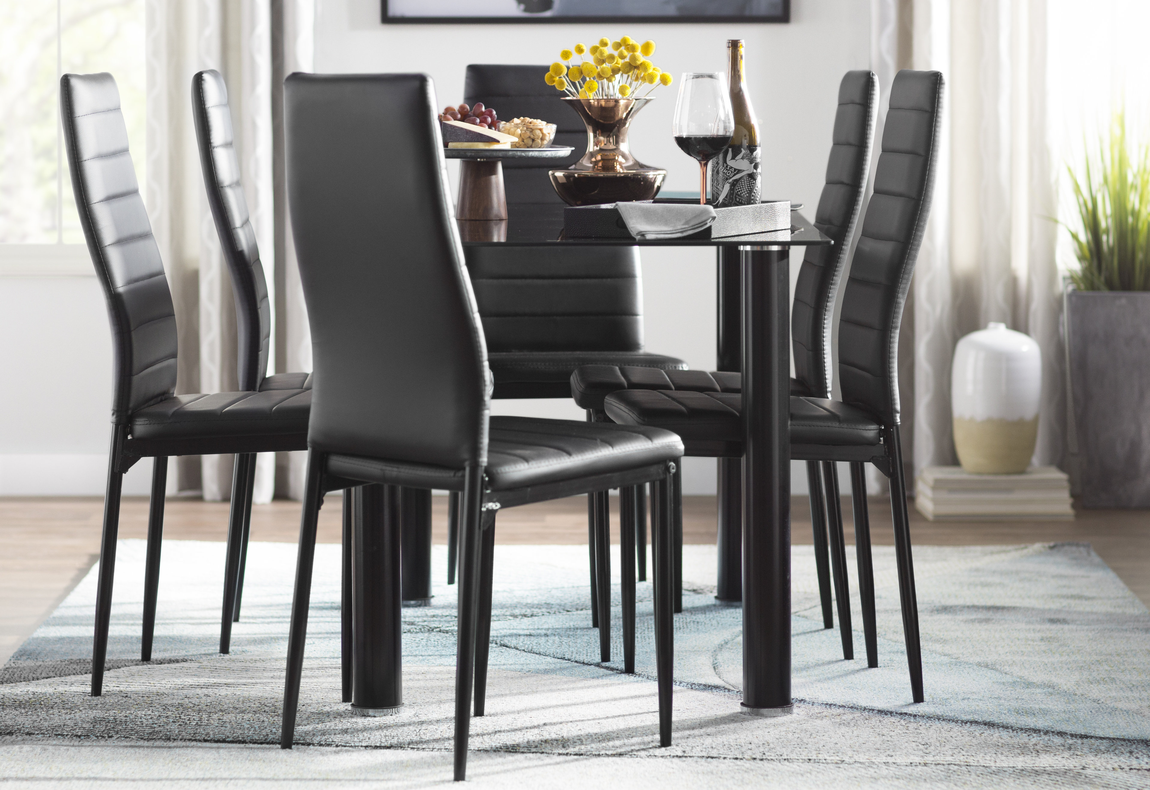 Wayfair Within Best And Newest Reinert 5 Piece Dining Sets (View 20 of 25)