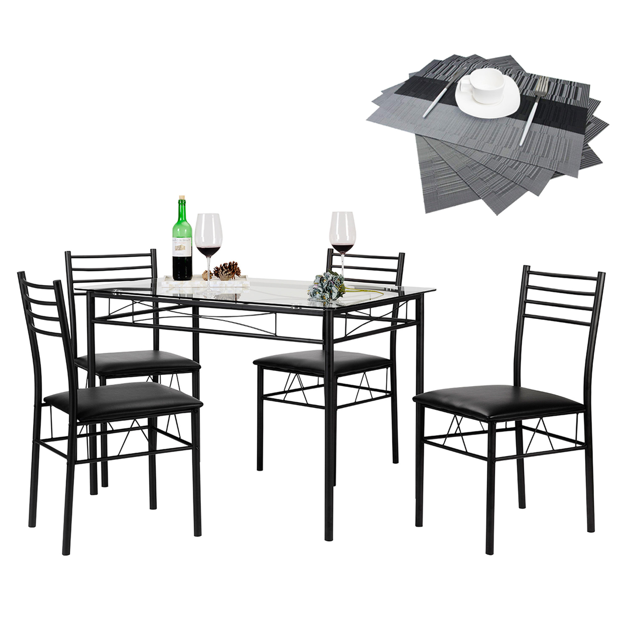 Wayfair Within Trendy North Reading 5 Piece Dining Table Sets (View 3 of 25)