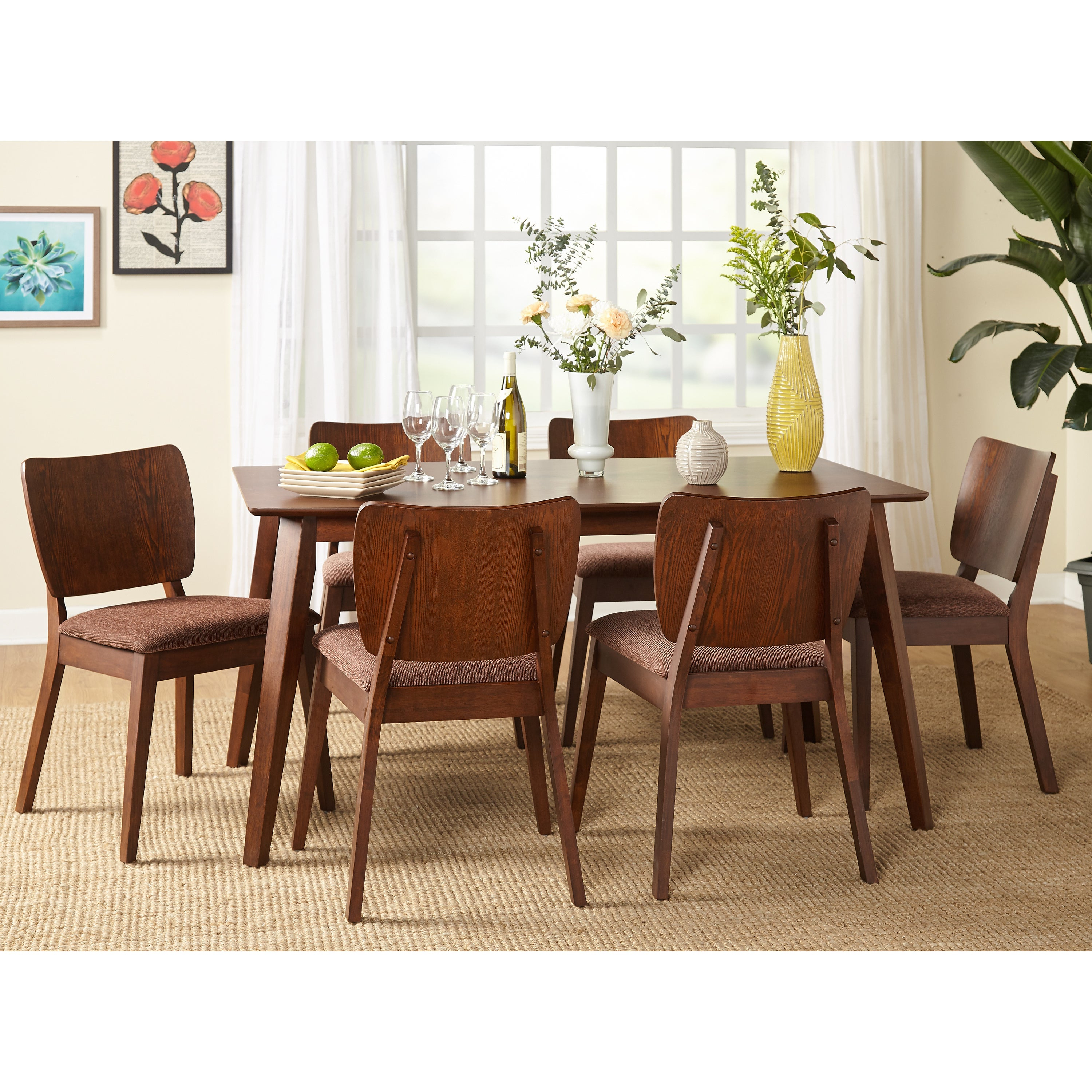 Well Known Cargo 5 Piece Dining Sets Pertaining To Buy 5 Piece Sets Kitchen & Dining Room Sets Online At Overstock (View 24 of 25)